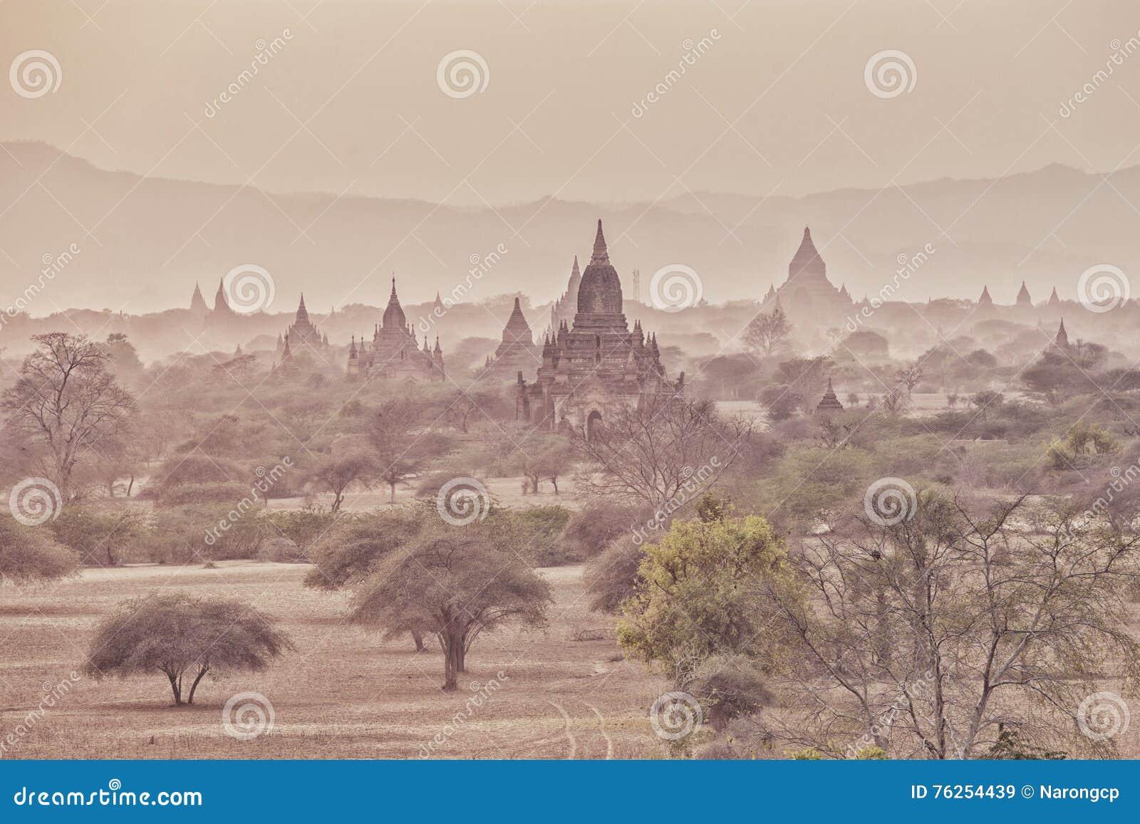 Tamples de Bagan, cidade antiga