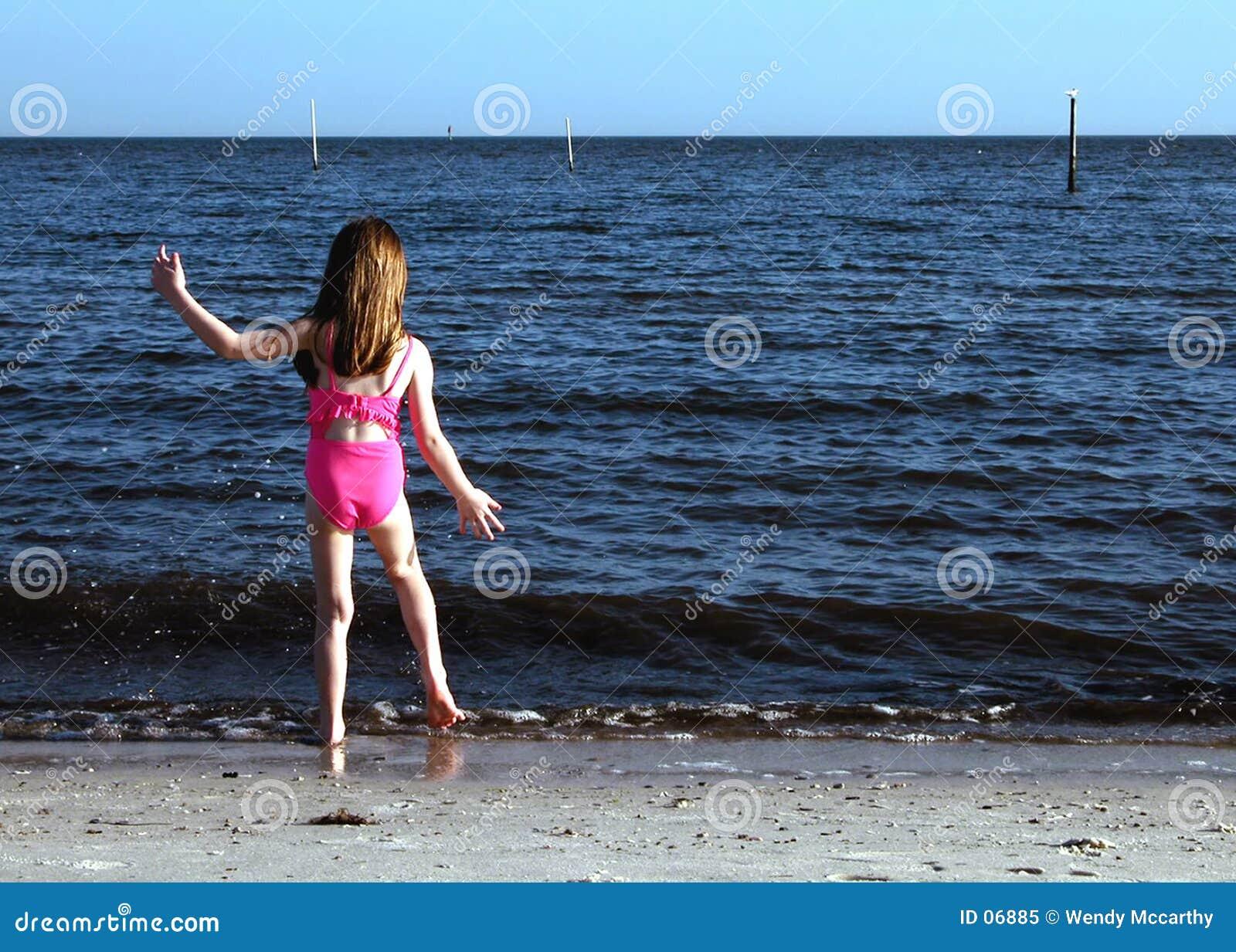 Tancerką na plaży