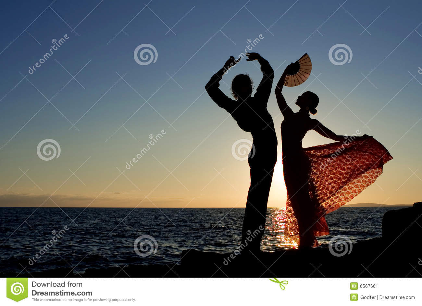 Tancerze target146_1_ flamenco spanish