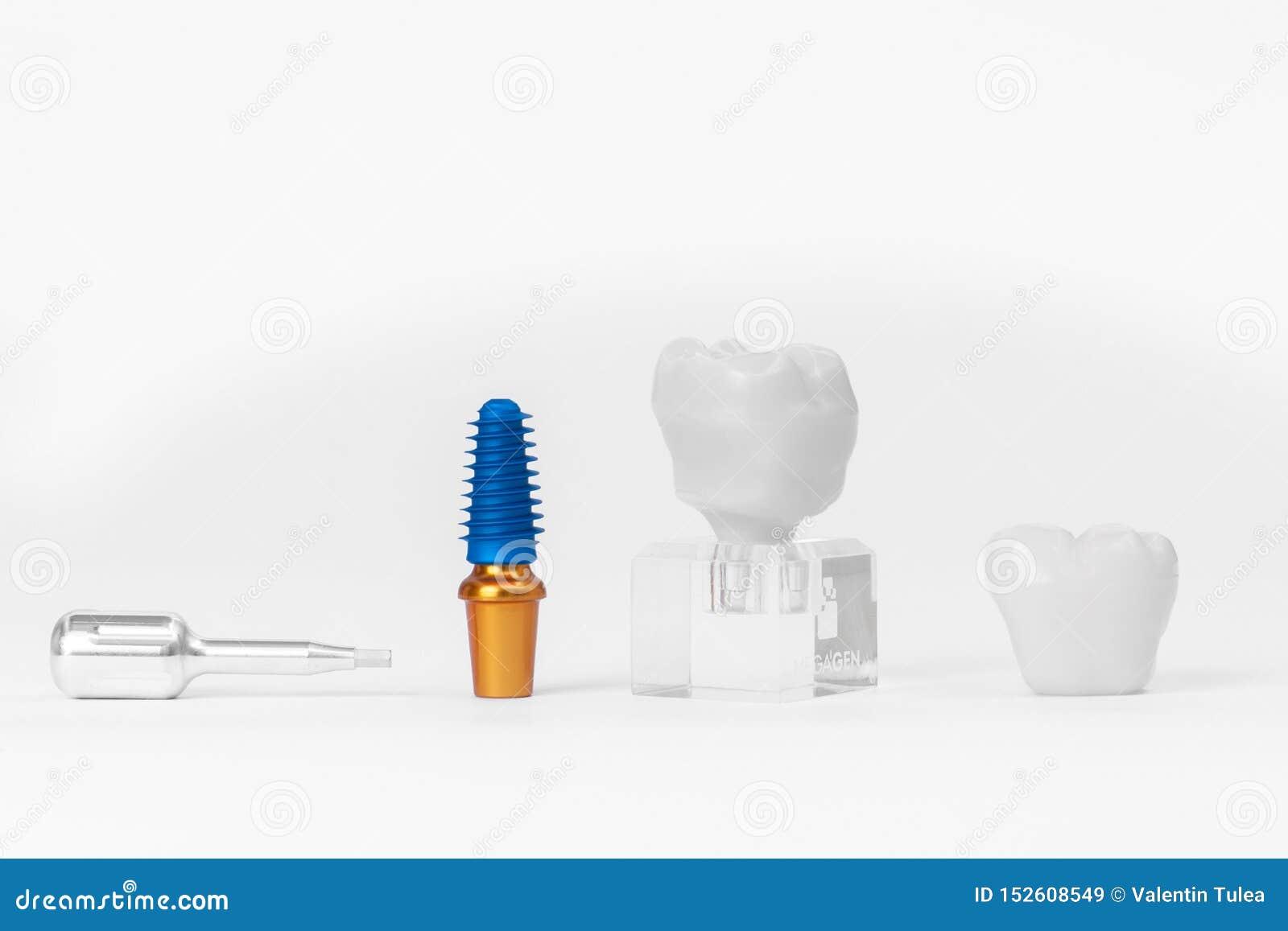Tand- isolerad siktswhite f?r element implantat
