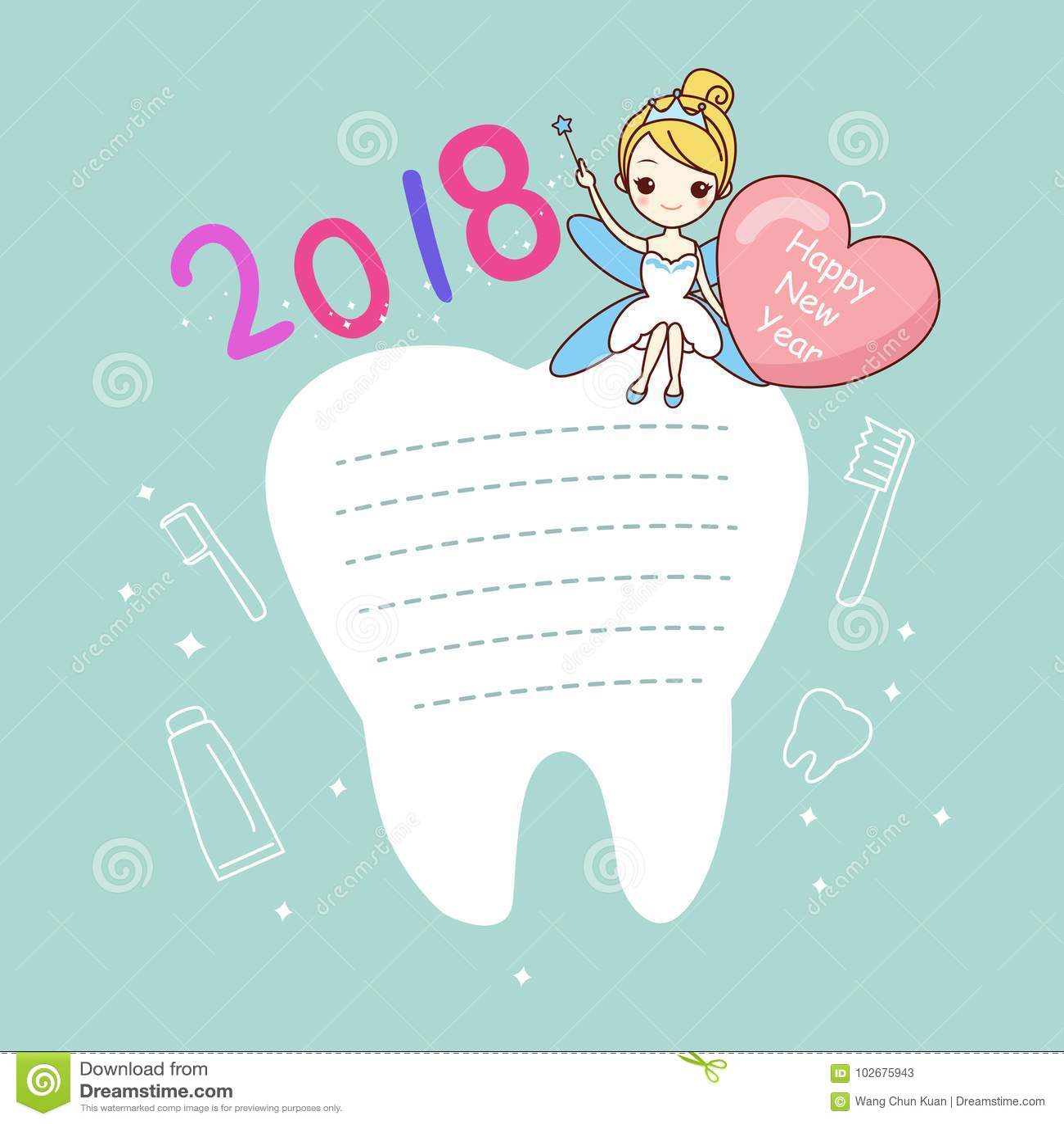 Tand med nytt år