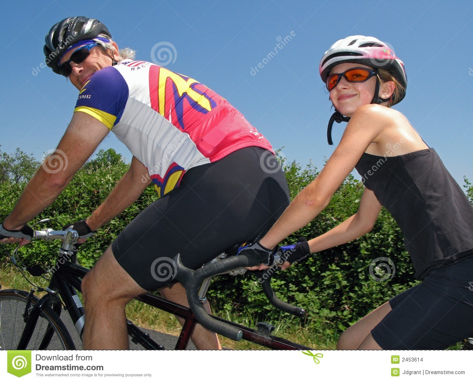 Tandemradfahrer
