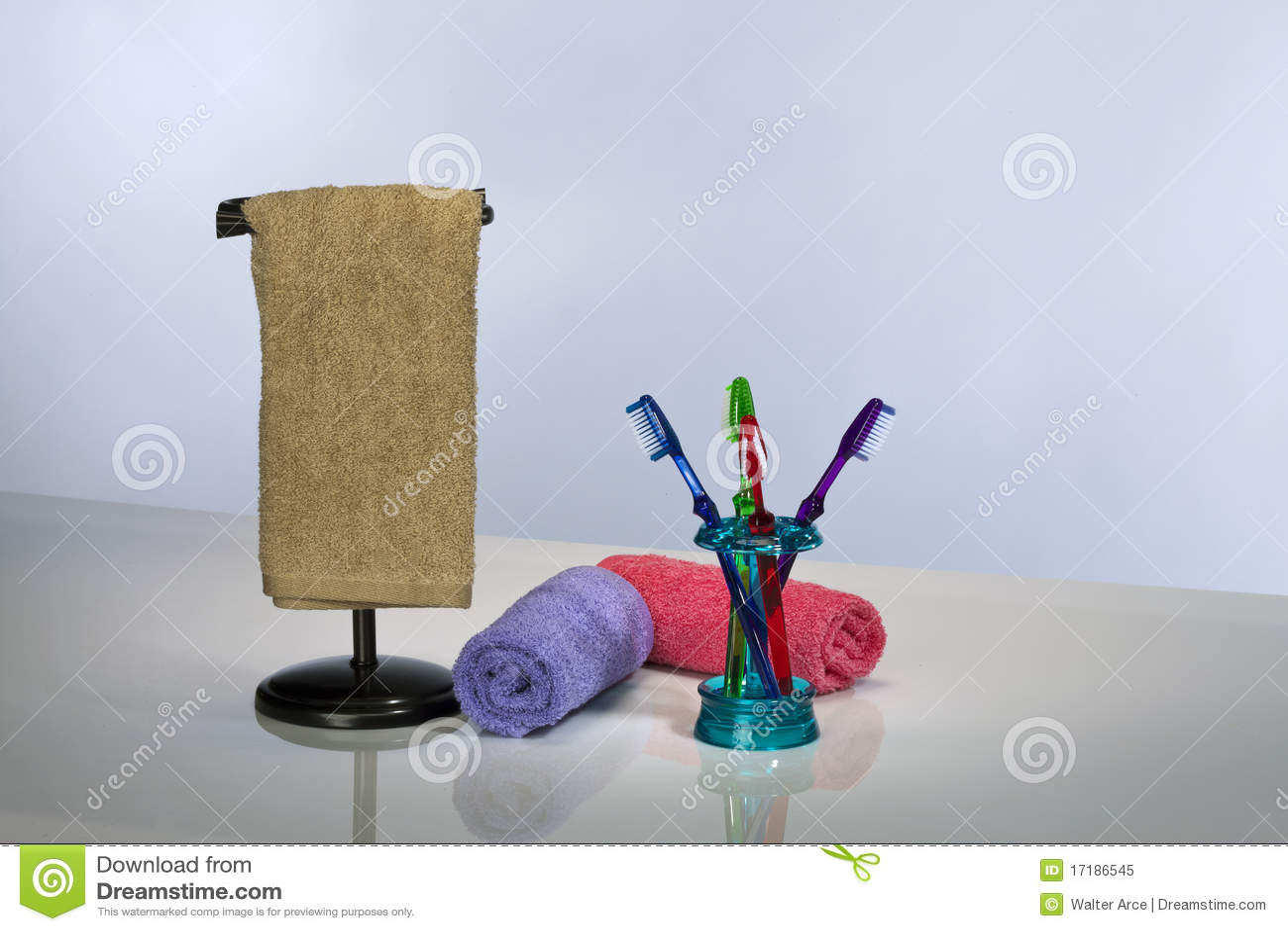 Tandenborstel en Badhanddoeken