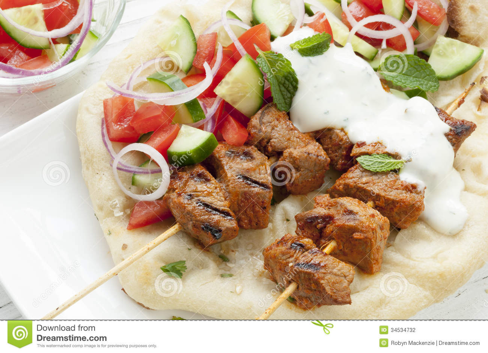 Tandoori Lamb Kebabs