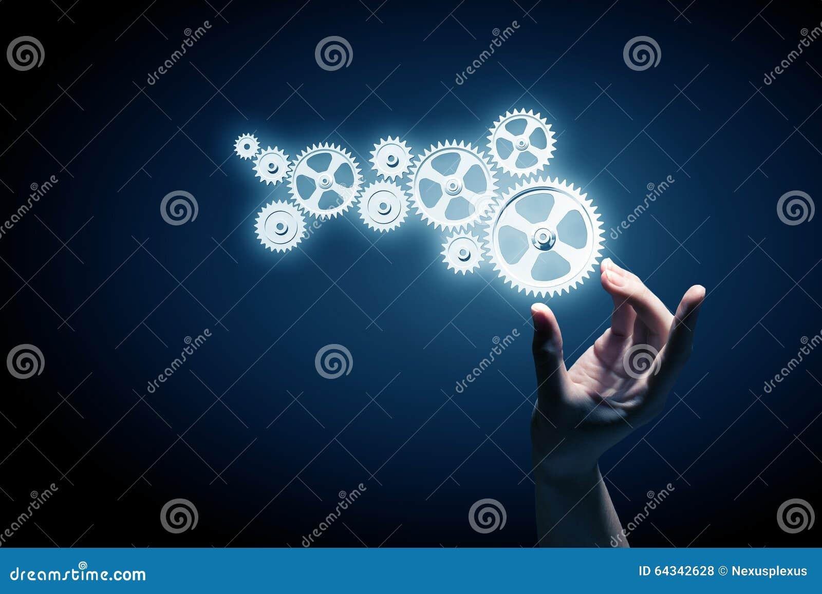 Tandradmechanisme als groepswerkconcept