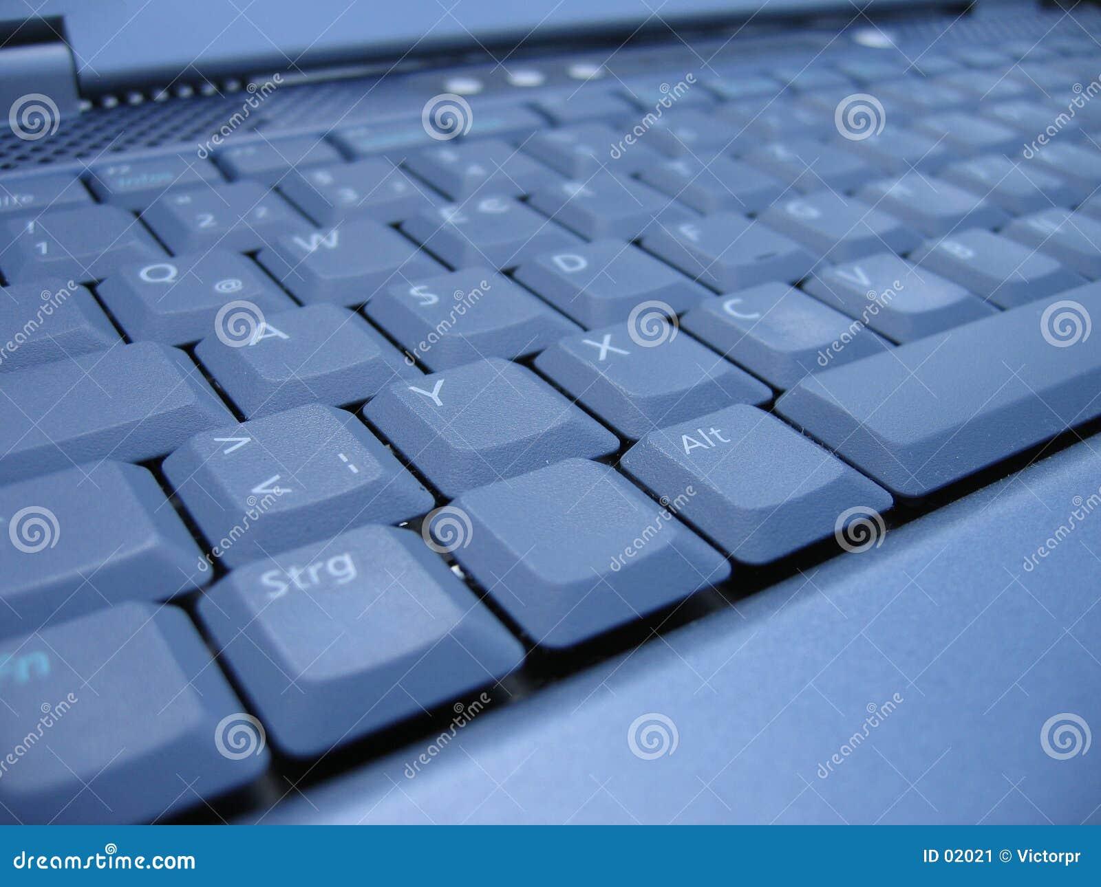 Tangentbordbärbar dator