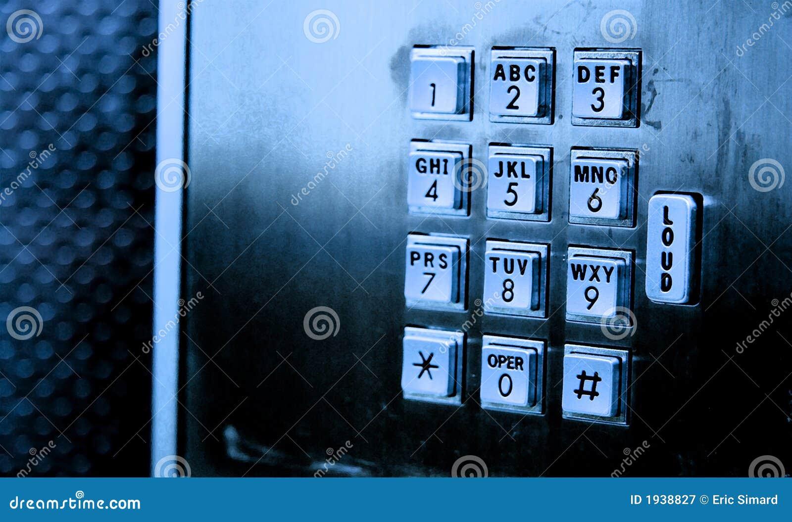 Tangentbordspaytelefon