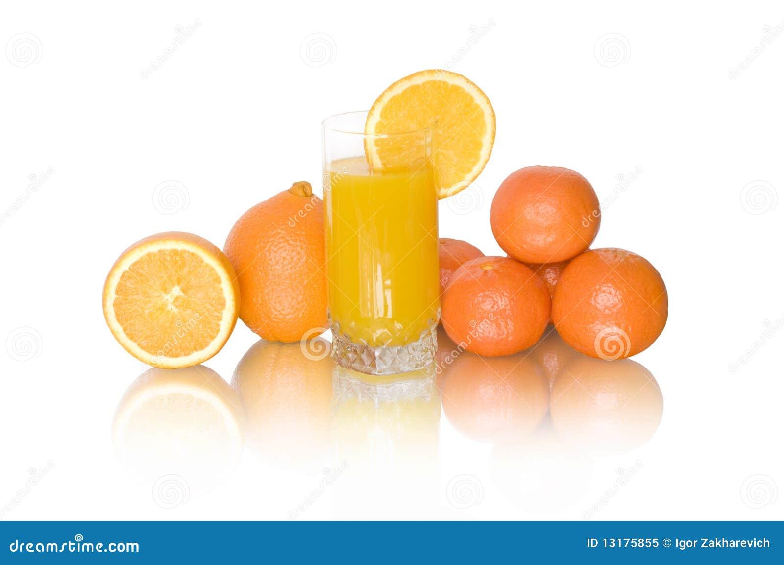 Tangerine πορτοκαλιών χυμού