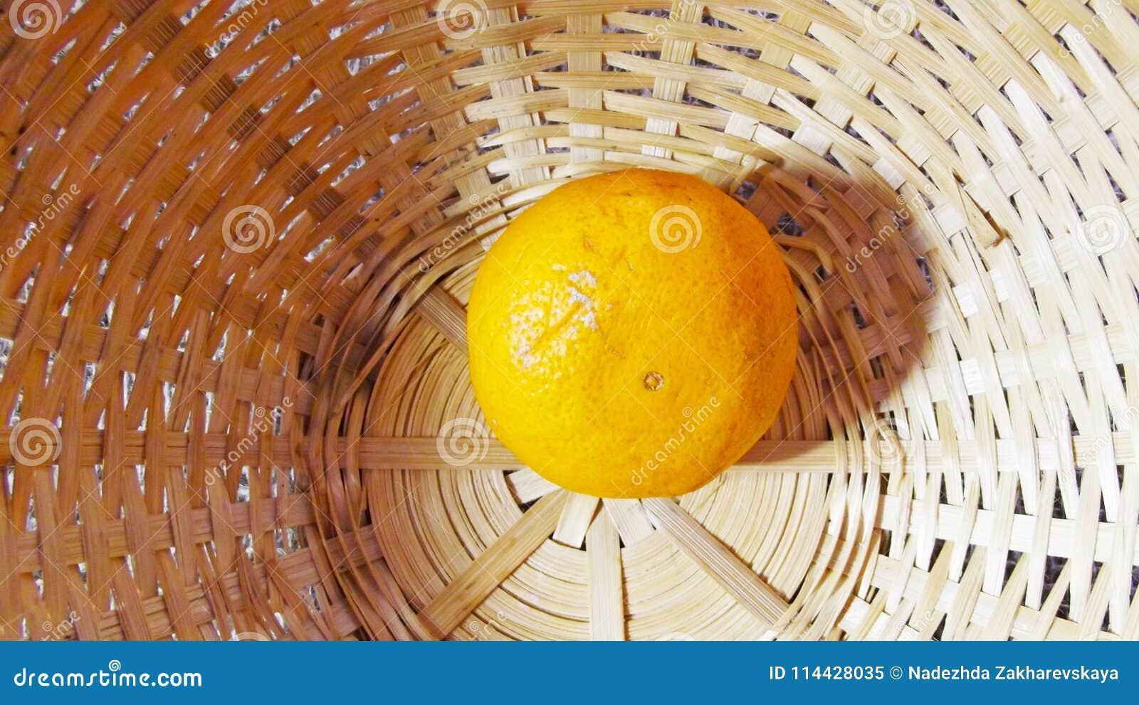 Tangerine στο καλάθι