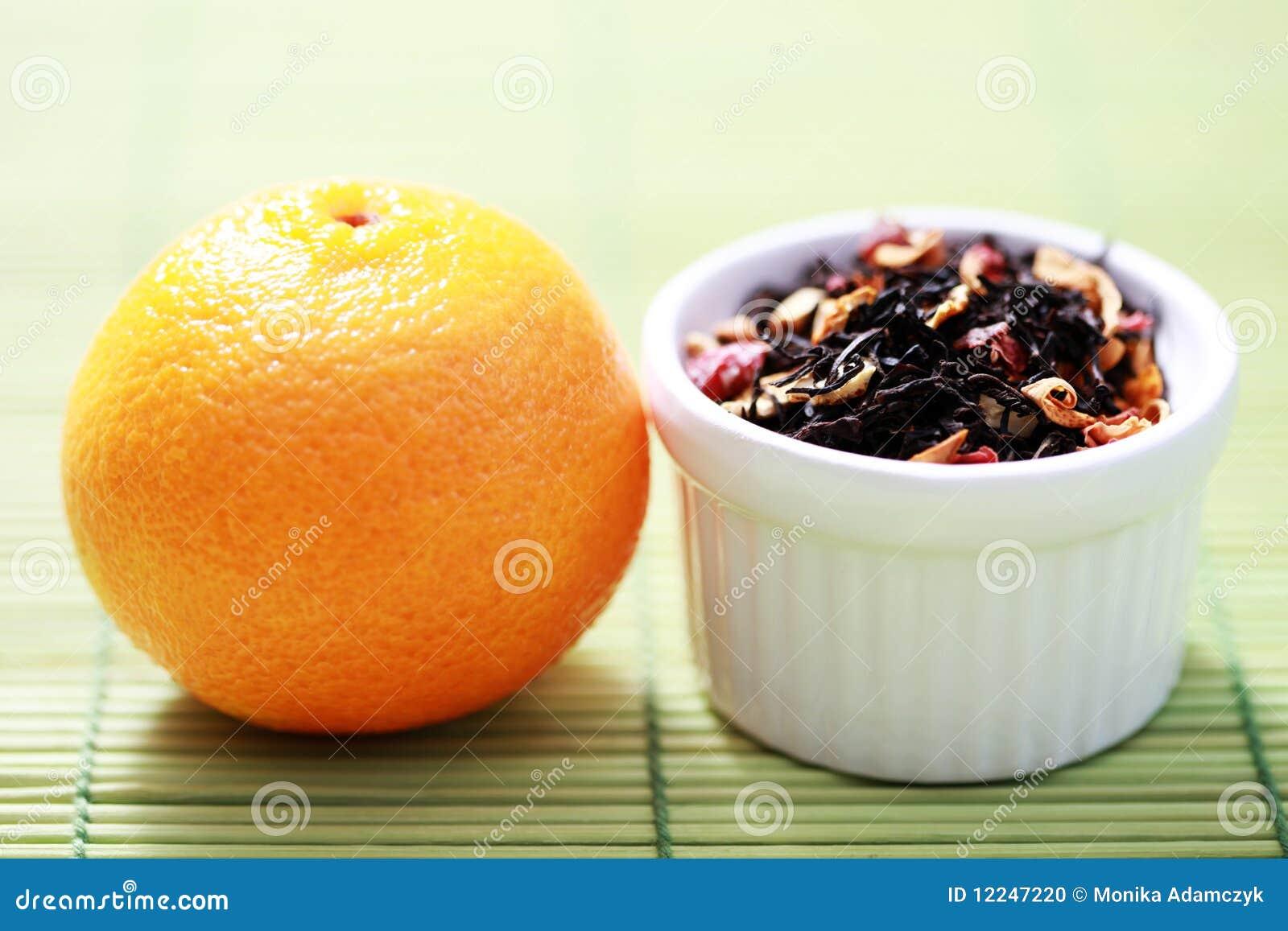 Tangerine τσάι