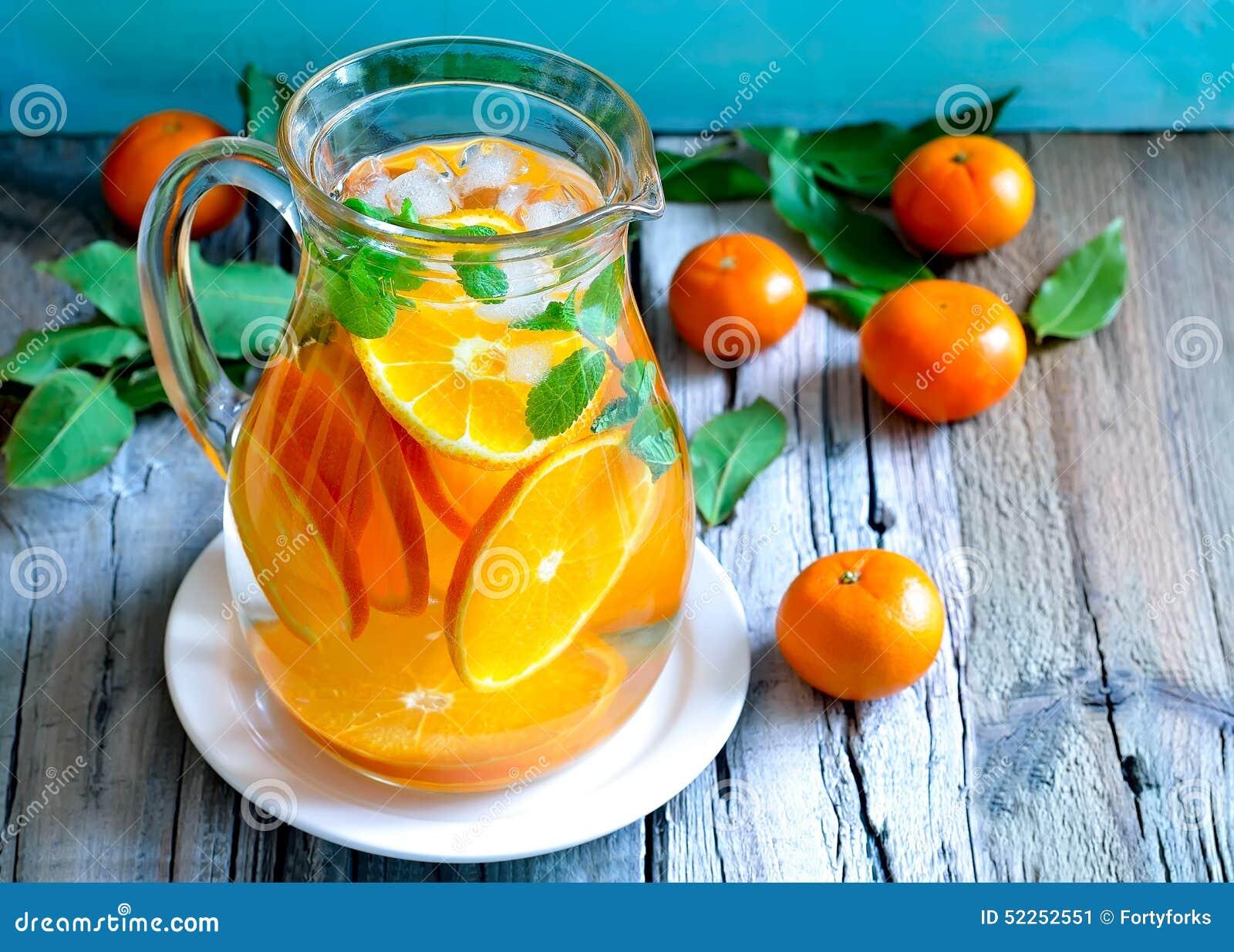Tangerine lemoniada