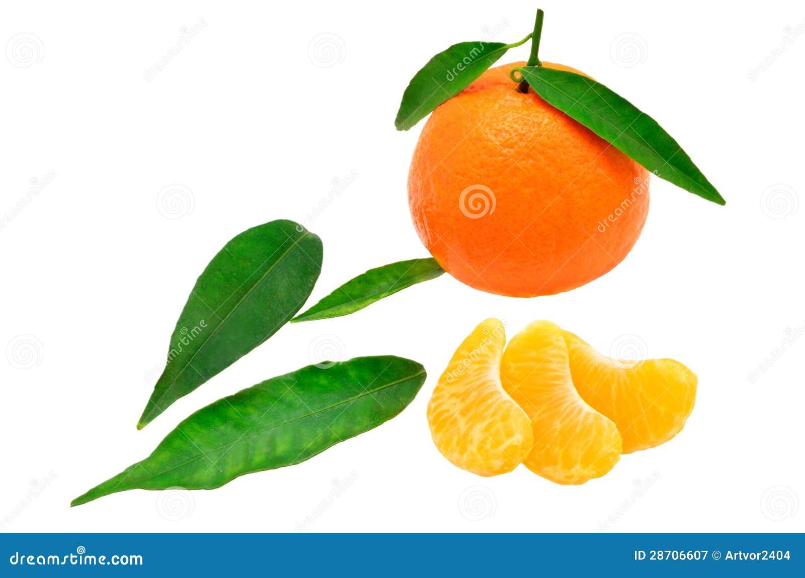 Tangerine, pokrajać i opuszcza