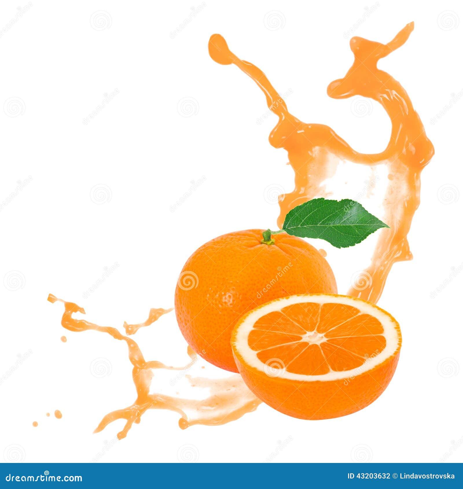 Download Tangerinfärgstänk arkivfoto. Bild av banta, orange, livstid - 43203632