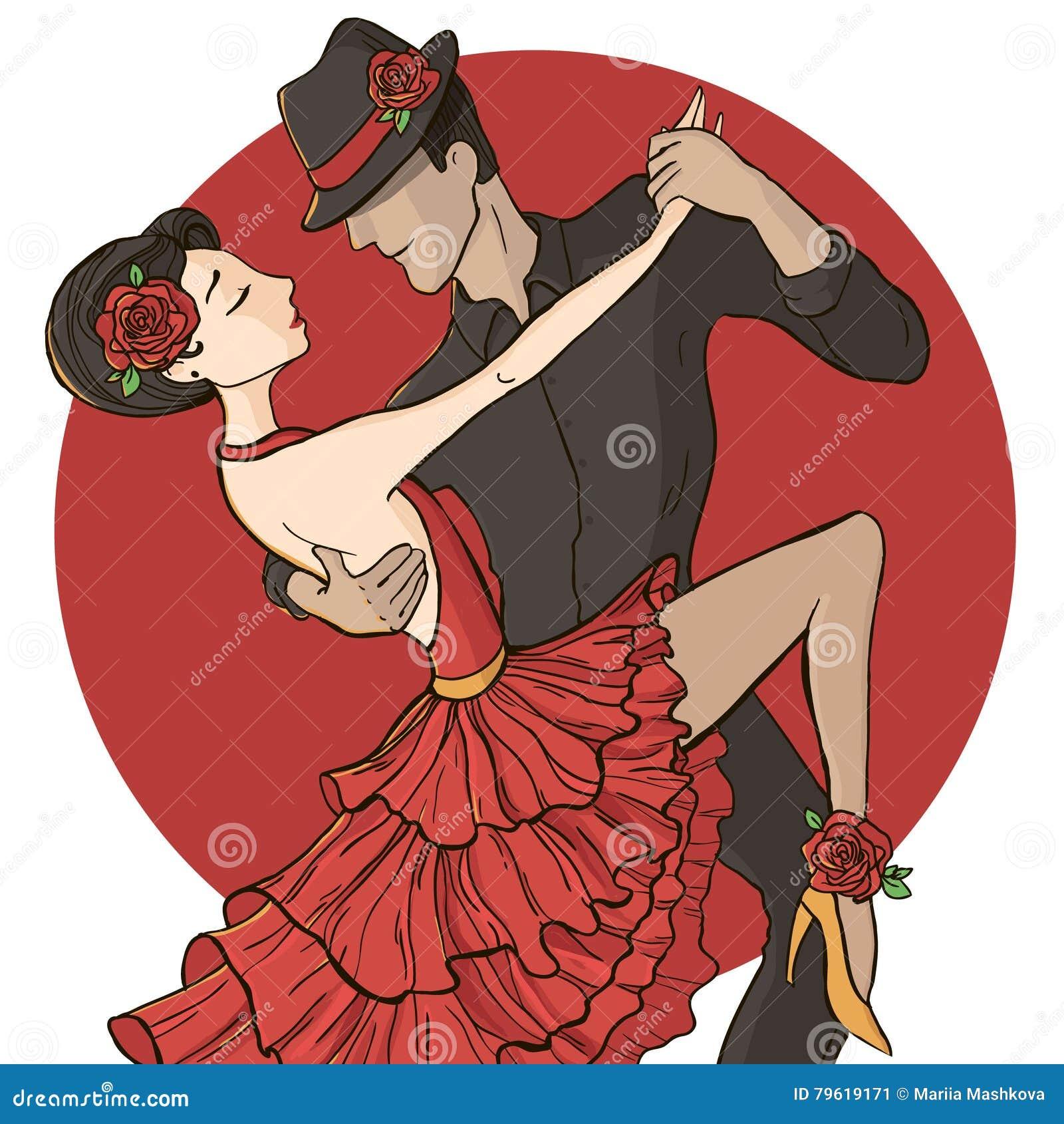 Tango da dança dos pares