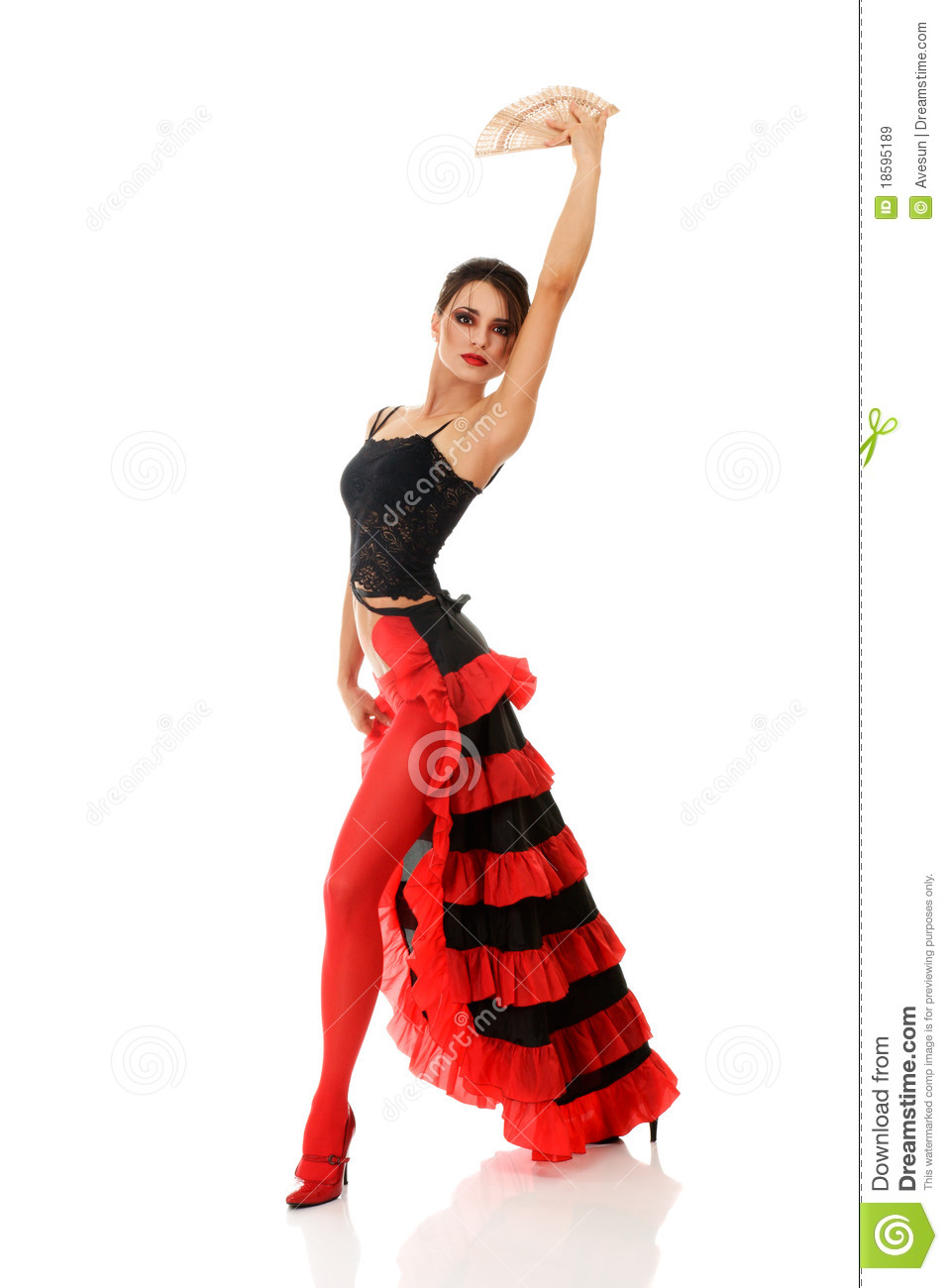 Tango Dancer Royalty Free Stock Images - Image: 18595189