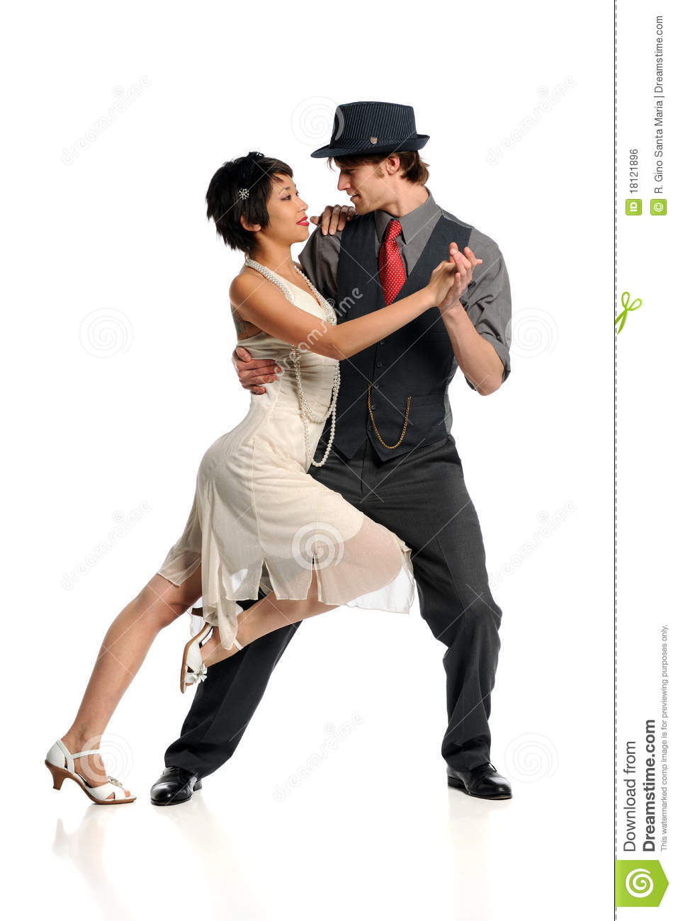 tango de danse de couples photo stock image du action 18121896. Black Bedroom Furniture Sets. Home Design Ideas