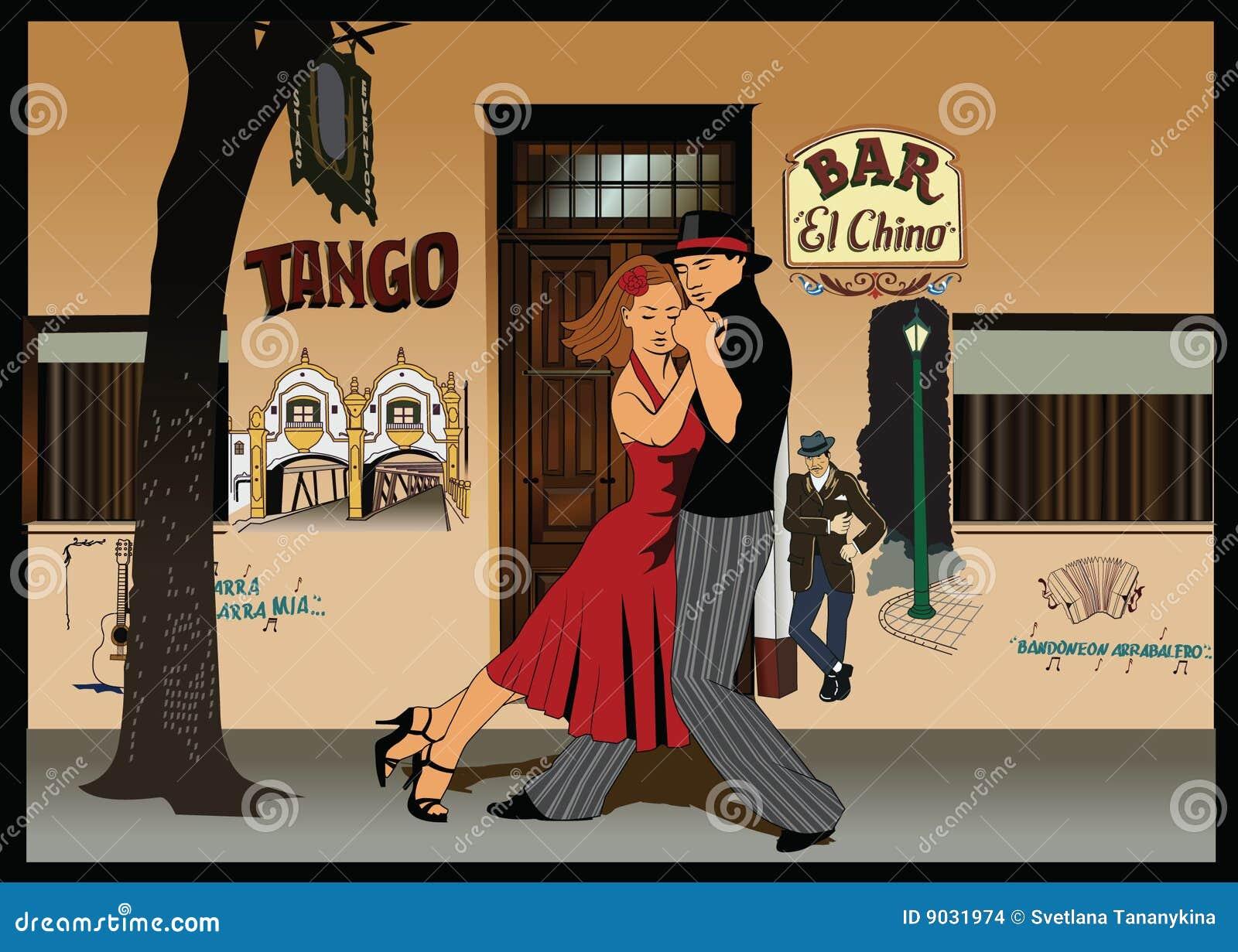 Tango för 2 argentinean