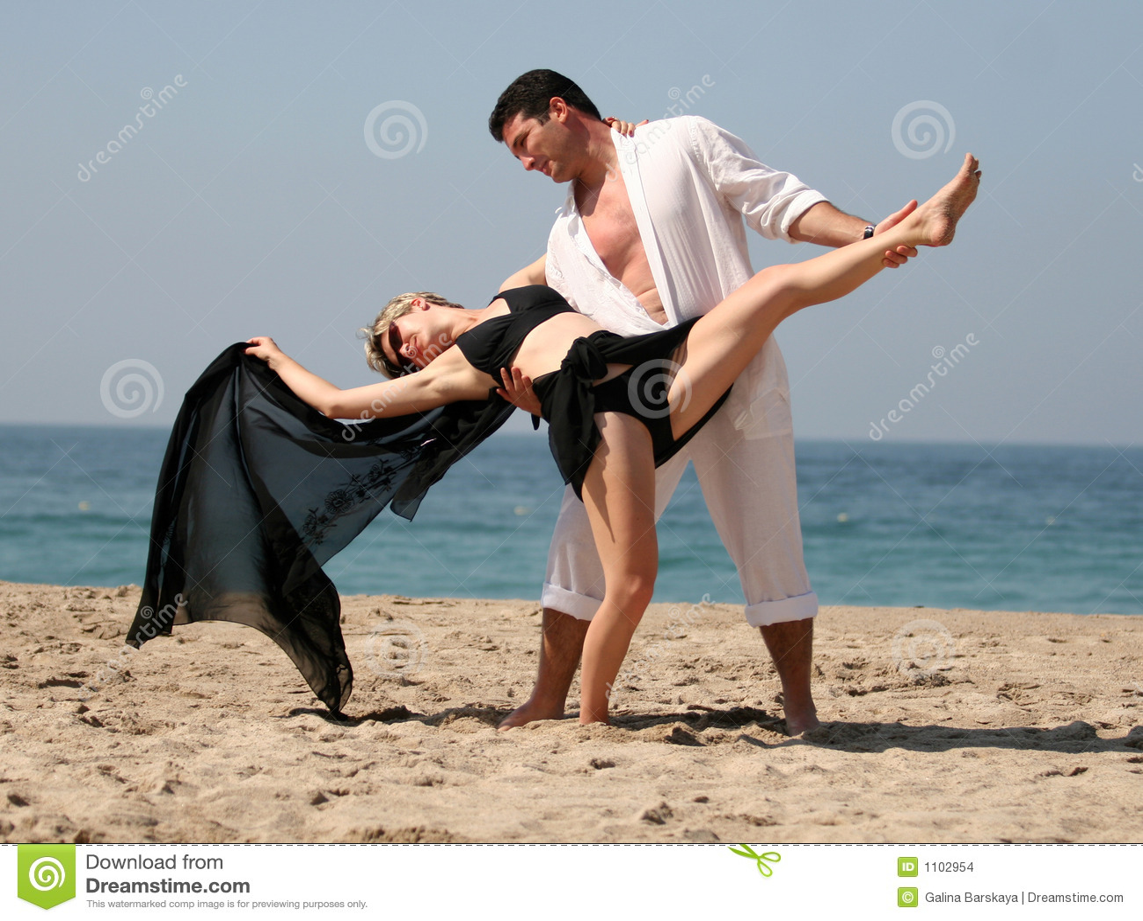 Tango na plaży