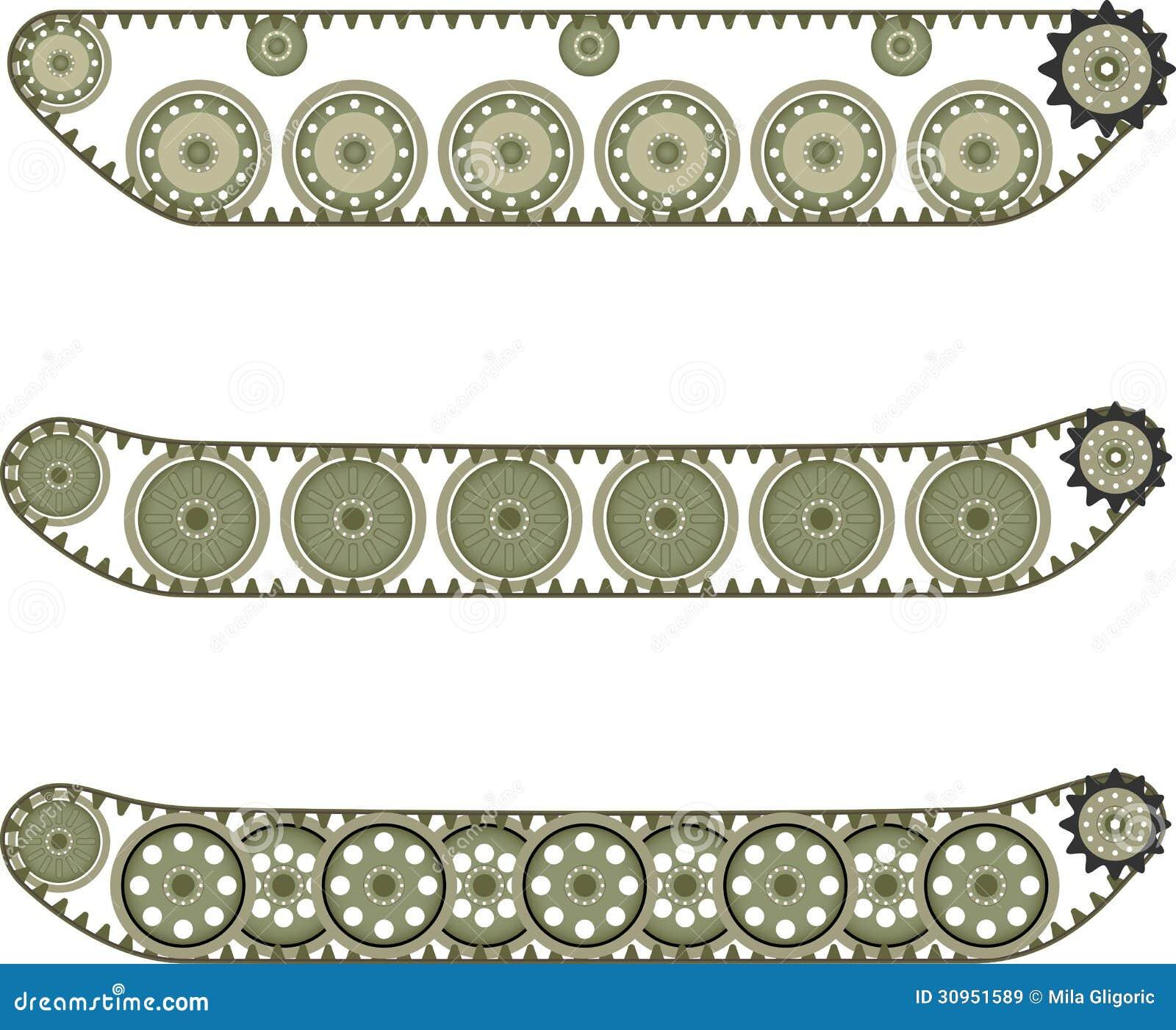 Tank Caterpillar Royalty Free Stock Images - Image: 30951589