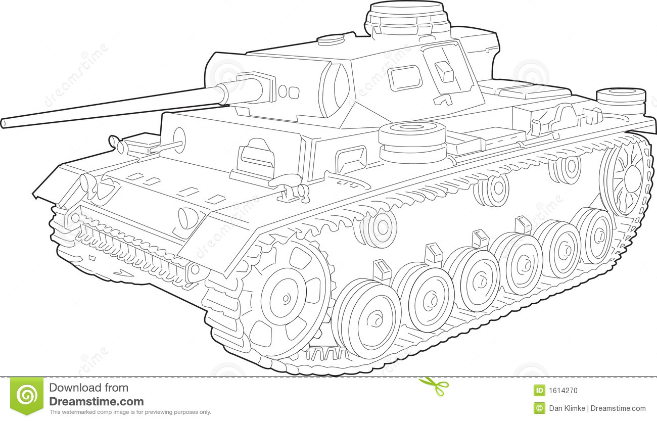 Tank Illustration Stock Vector Image Of Blast Rotate
