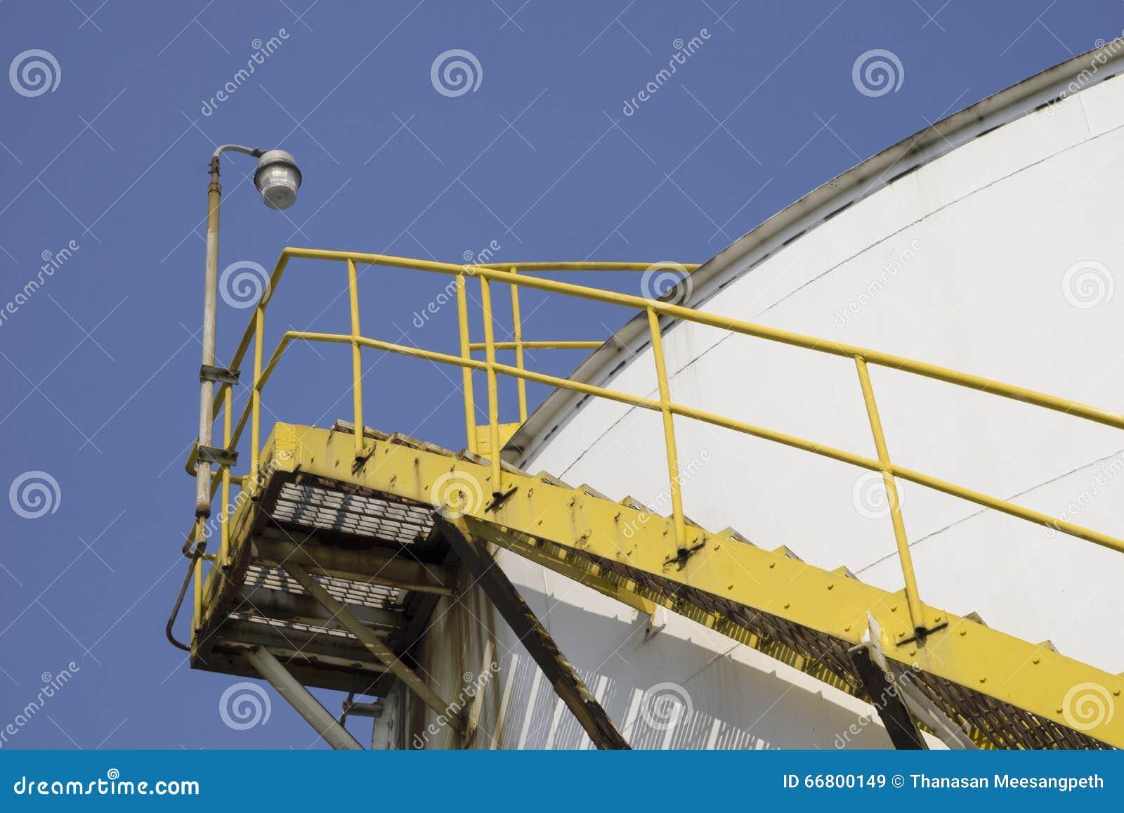 Water Tank Stairs : Tank stair stock photo image