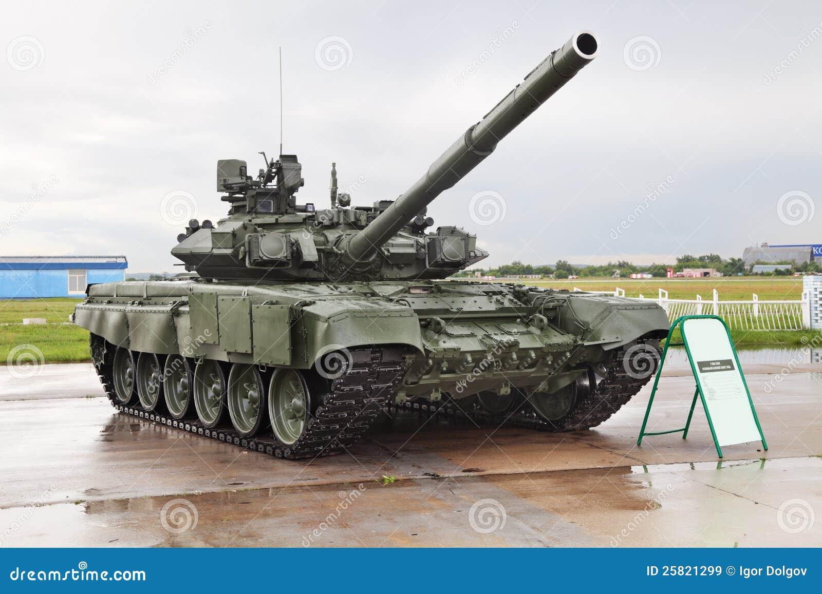 Tank T-90 Editorial Stock Image - Image: 25821299