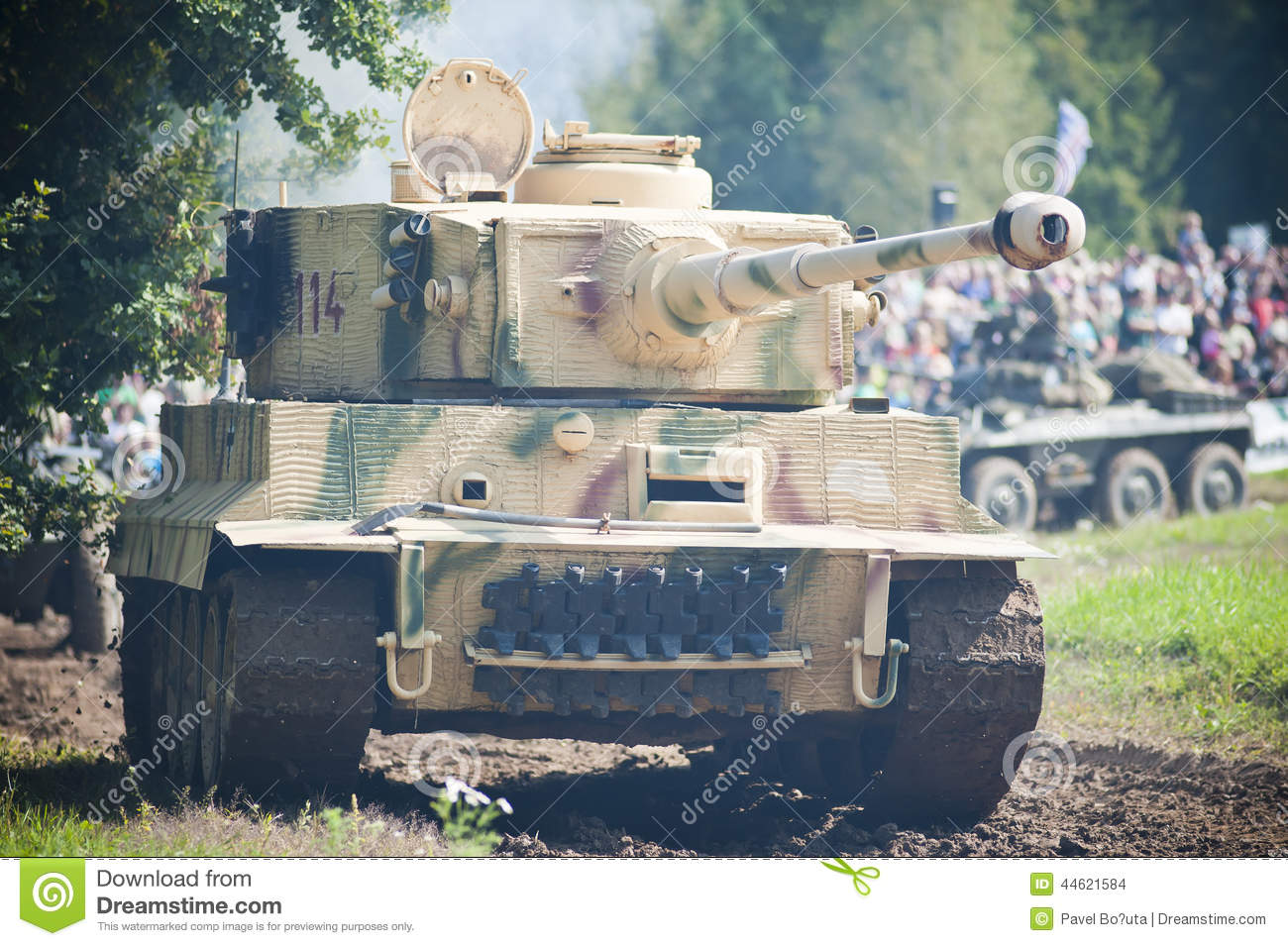 Tank tiger editorial stock image image 44621584 - Show me a picture of the tiger ...