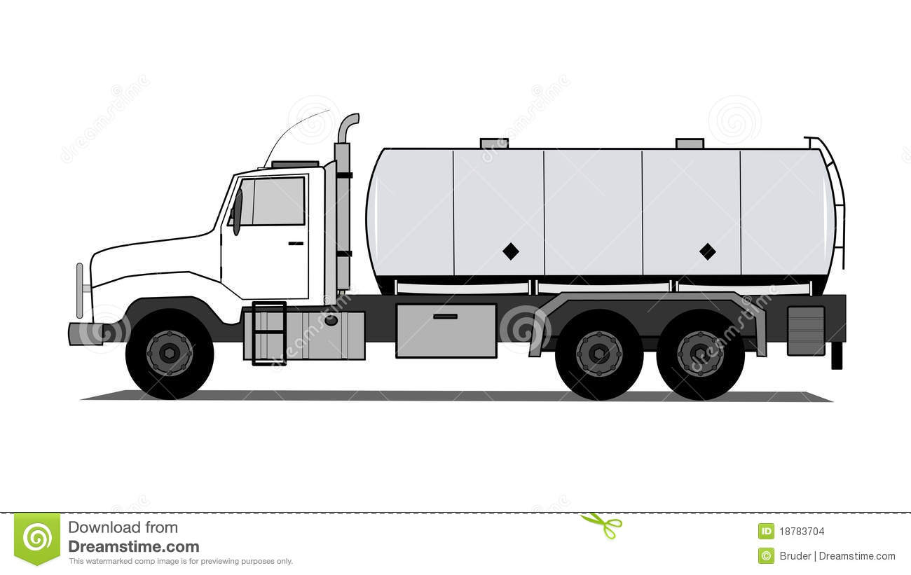 tank truck stock vector illustration of isolated heavy
