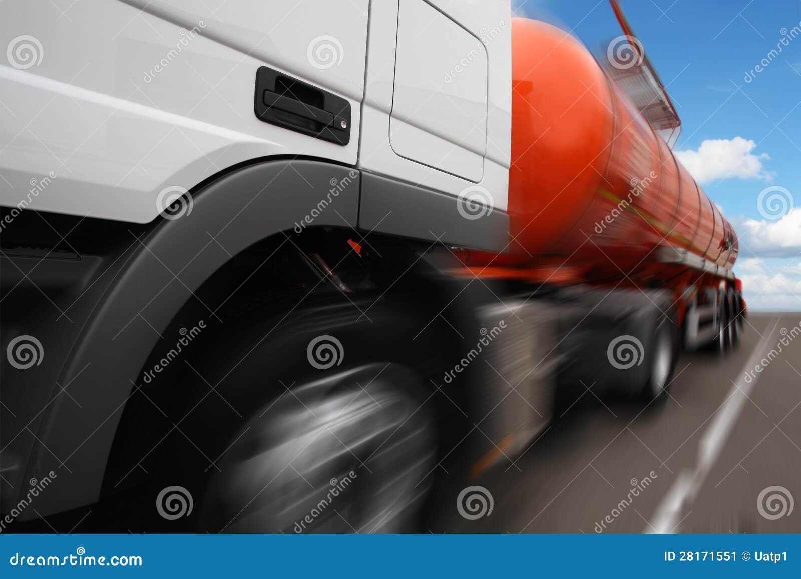 a tank truck