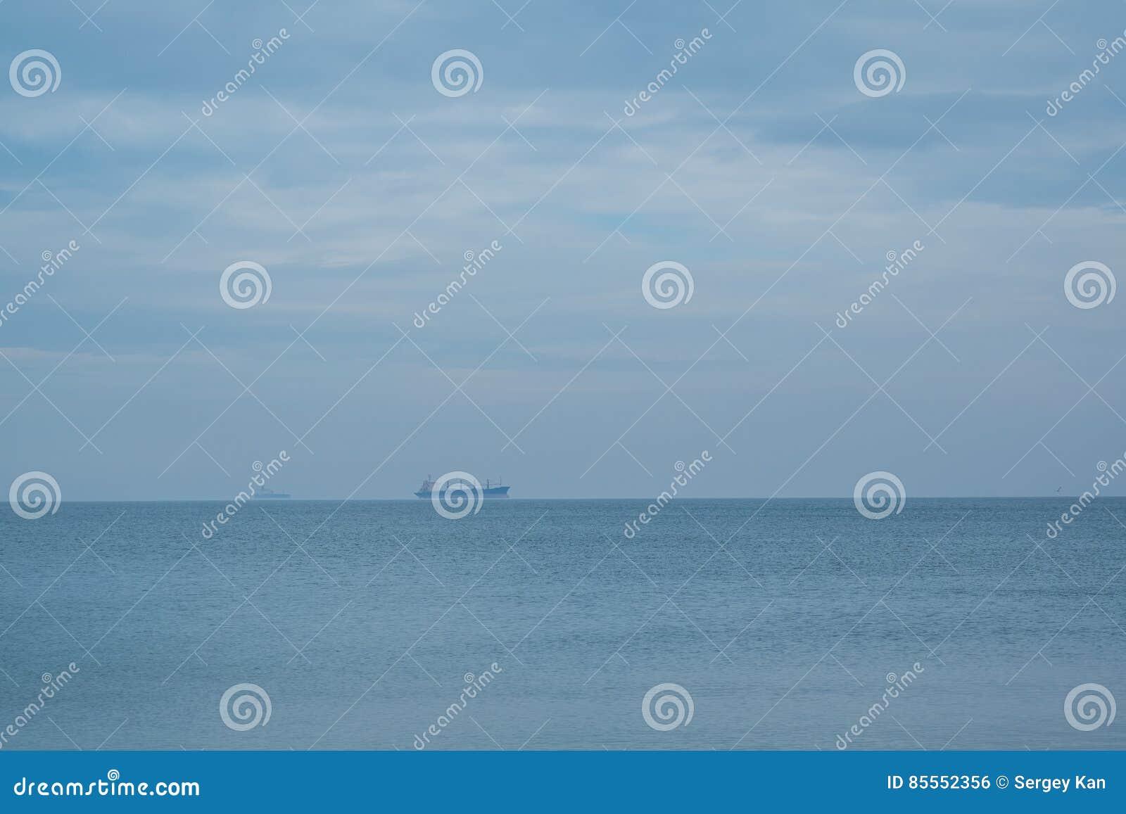 Tanker im Meer