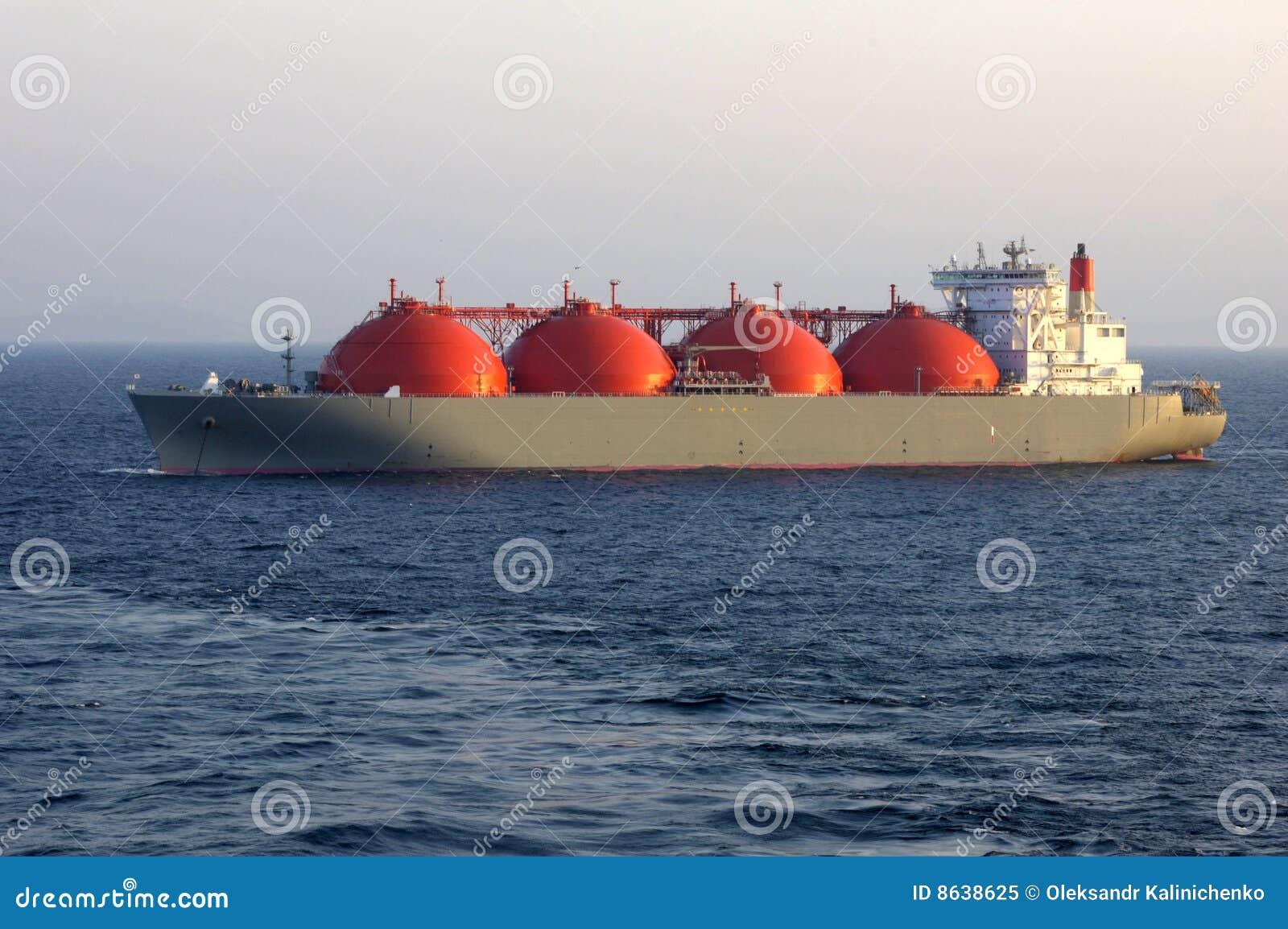 Tankfartyg för olja för lng för gasindustri