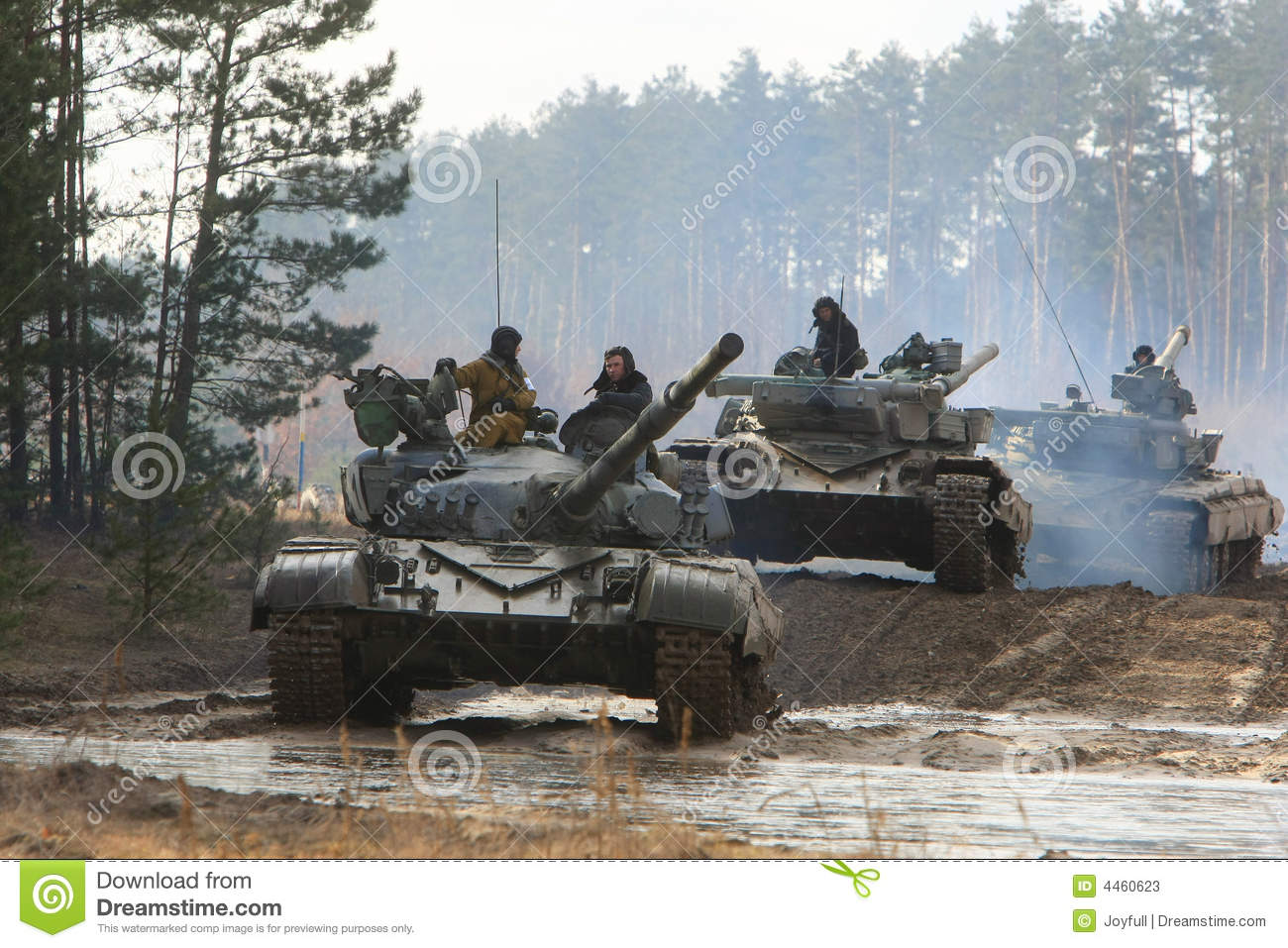 Tanks Editorial Stock Photo Image 4460623