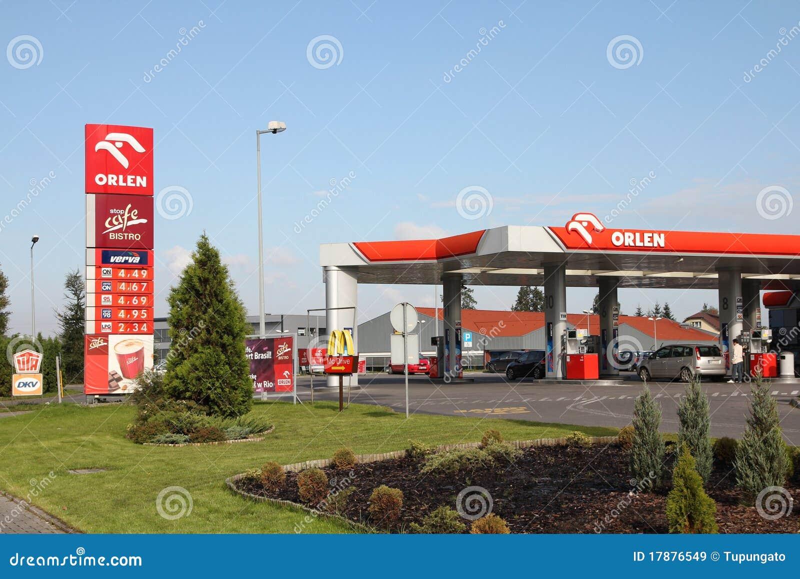 Orlen Tankstelle