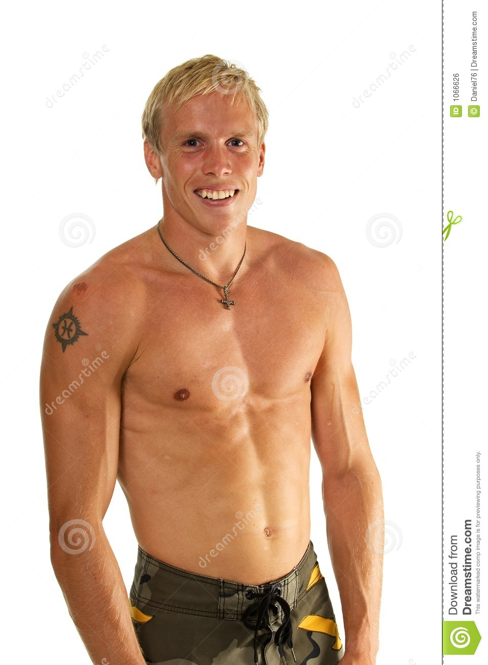 Tanned Man Stock Photo Image Of Body Tanned Active