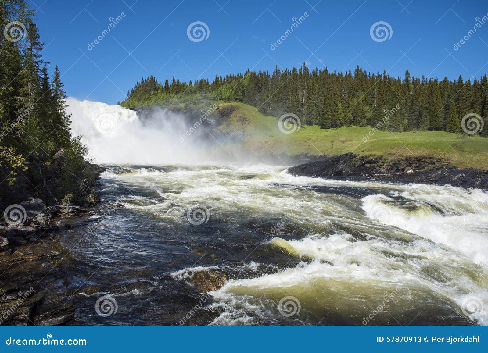 Tannforsen vattenfall Sverige