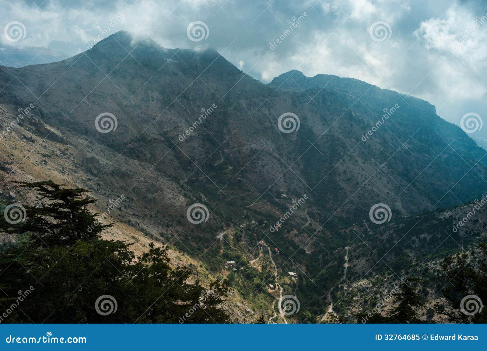 Tannourine dolina, Liban.