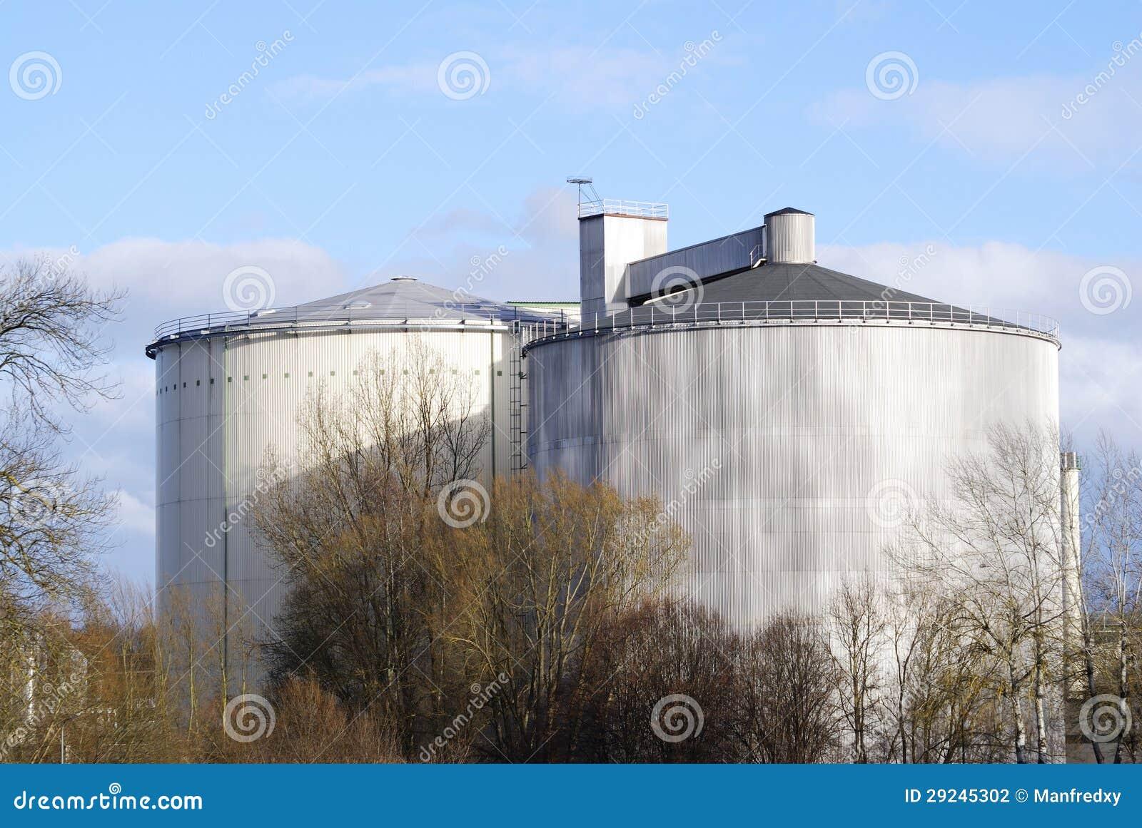 Download Tanque de armazenamento foto de stock. Imagem de energia - 29245302