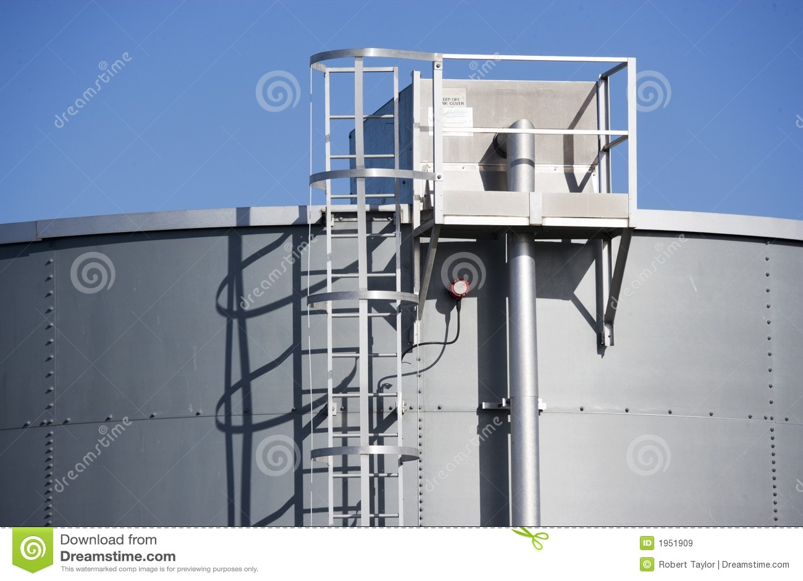 Tanque de armazenamento do petróleo