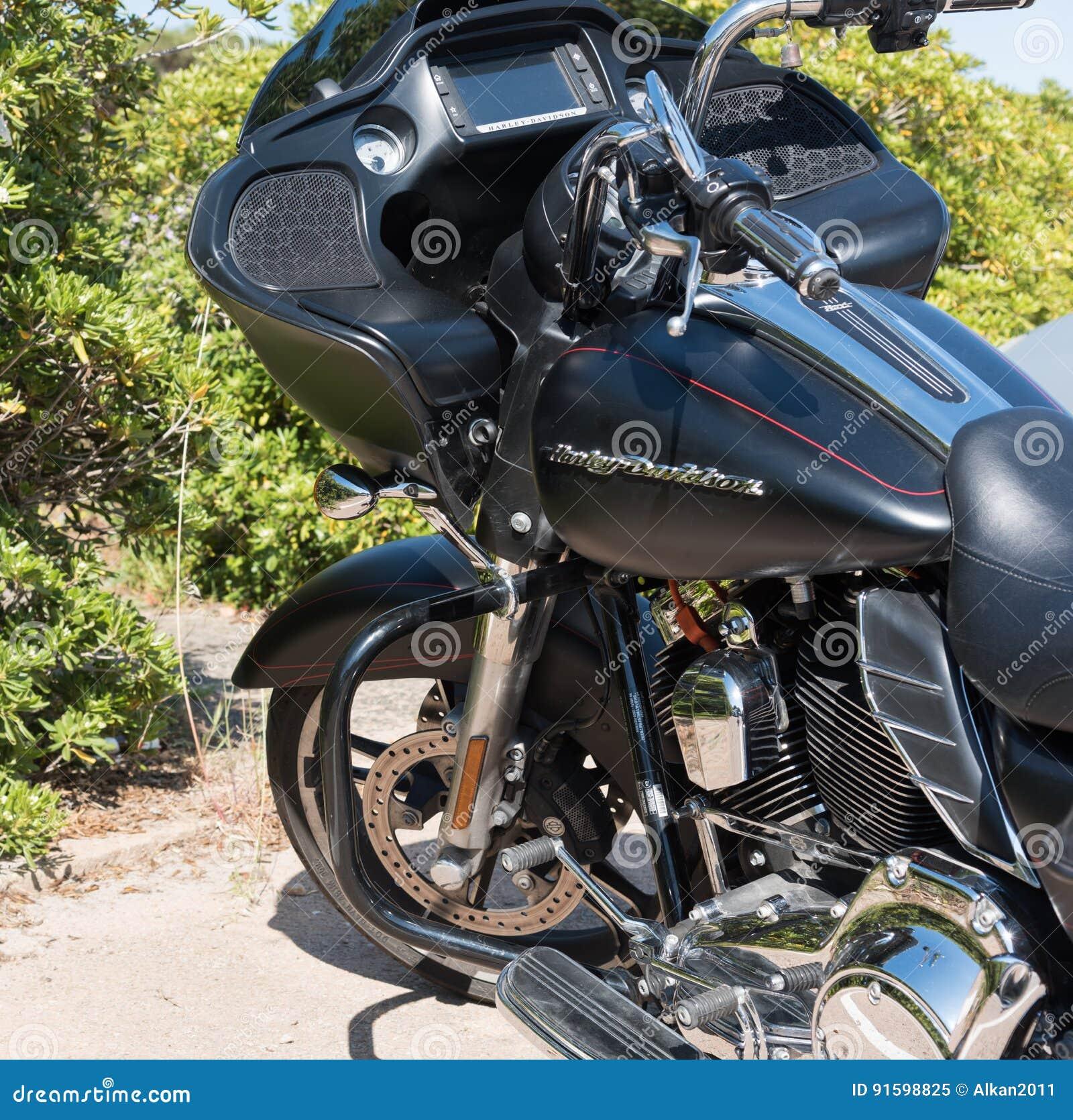 Tanque De Gas De Harley Davidson Road Glide Special Imagem Editorial Imagem De Tanque Glide 91598825