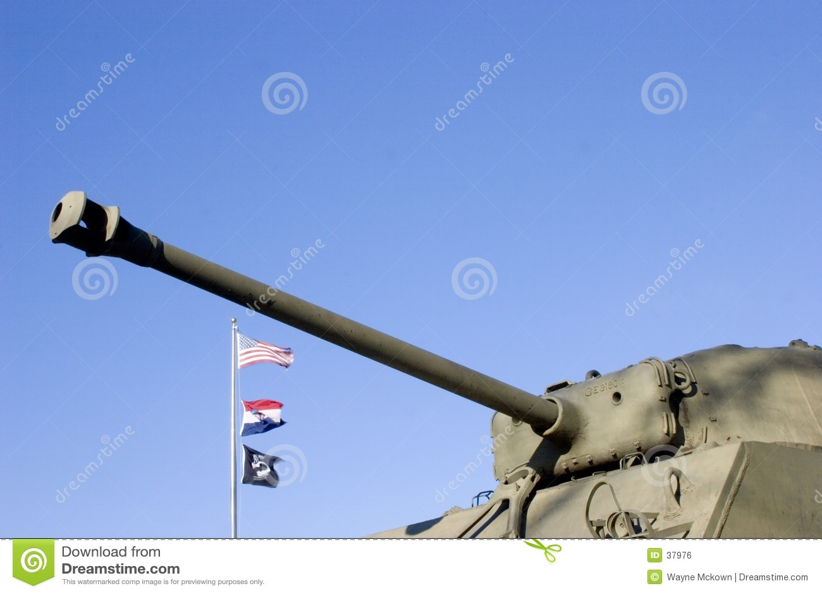 Tanque do exército dos EUA.