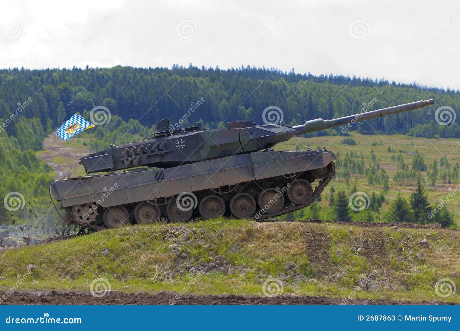 Tanque do leopardo 2