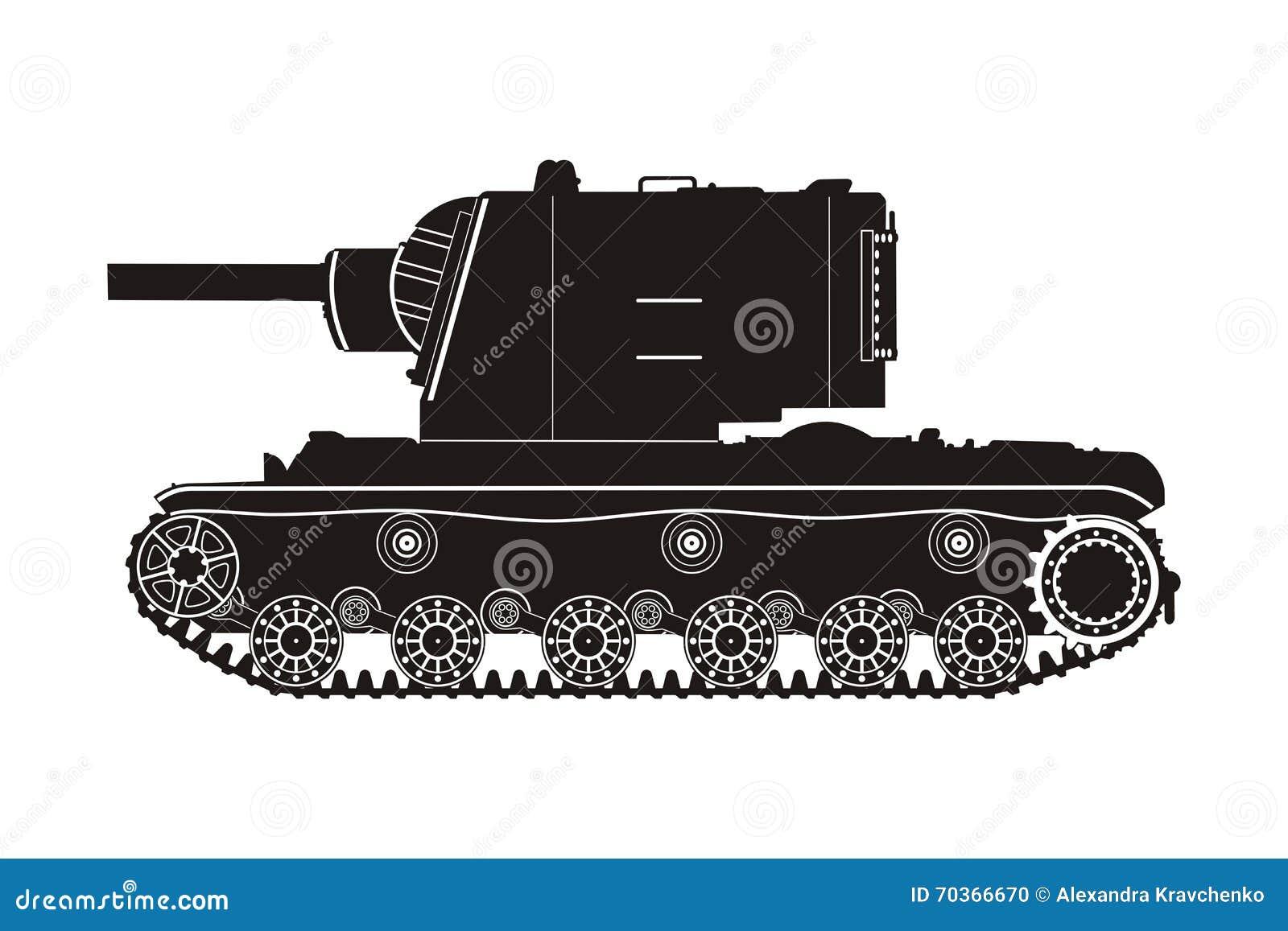 Tanque preto KV-2