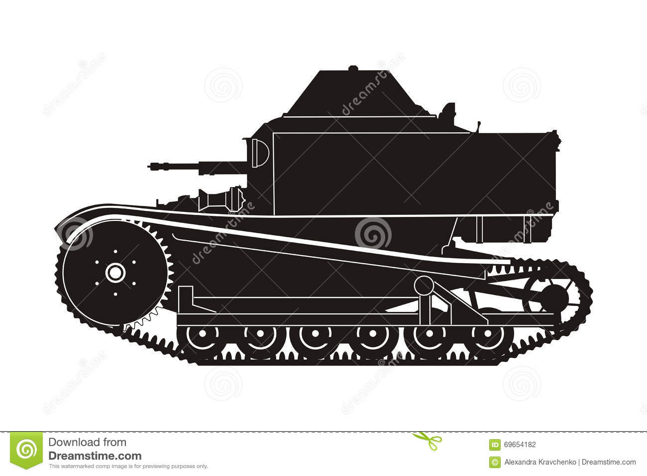 Tanque T-27