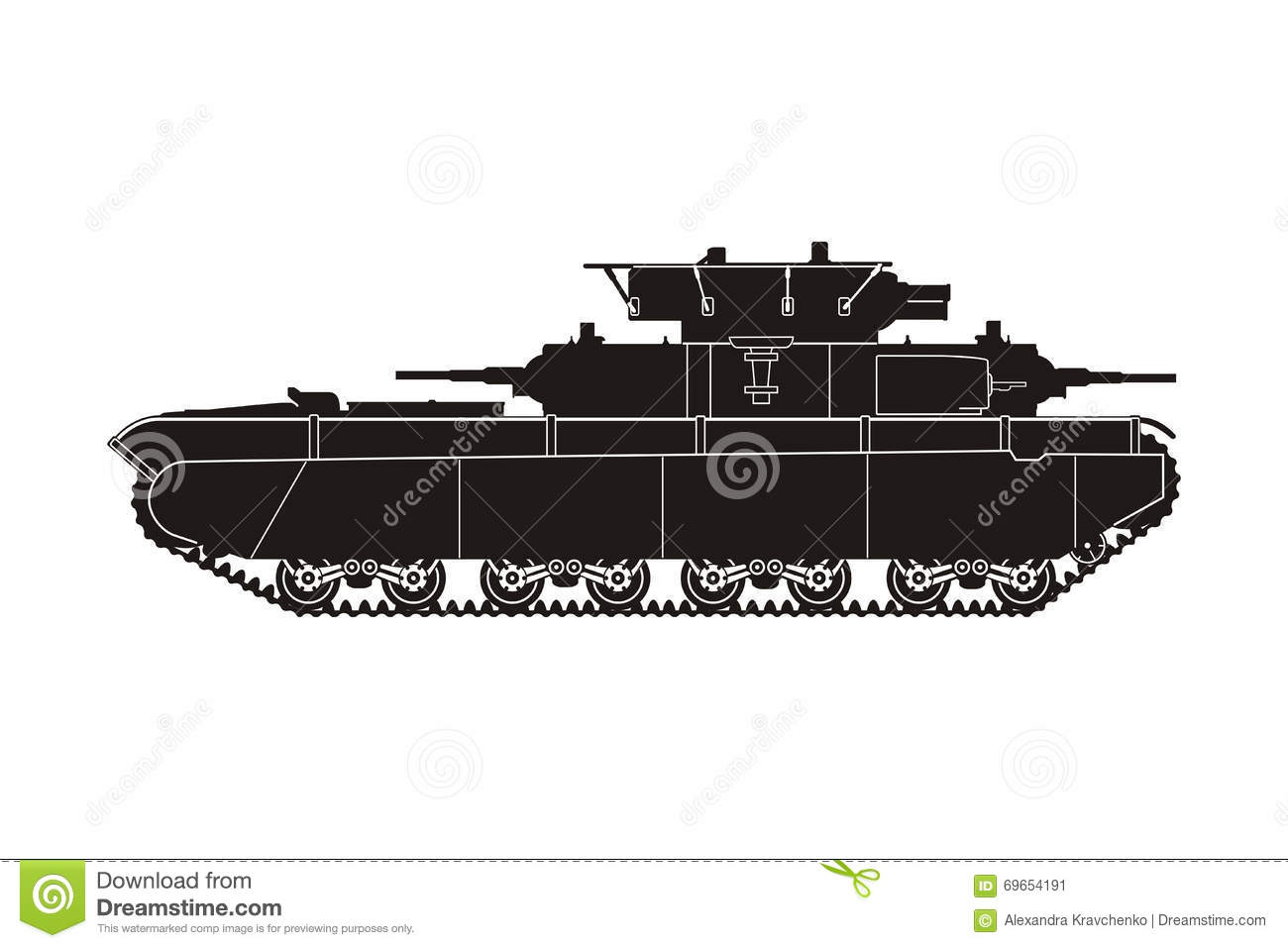 Tanque T-35-4