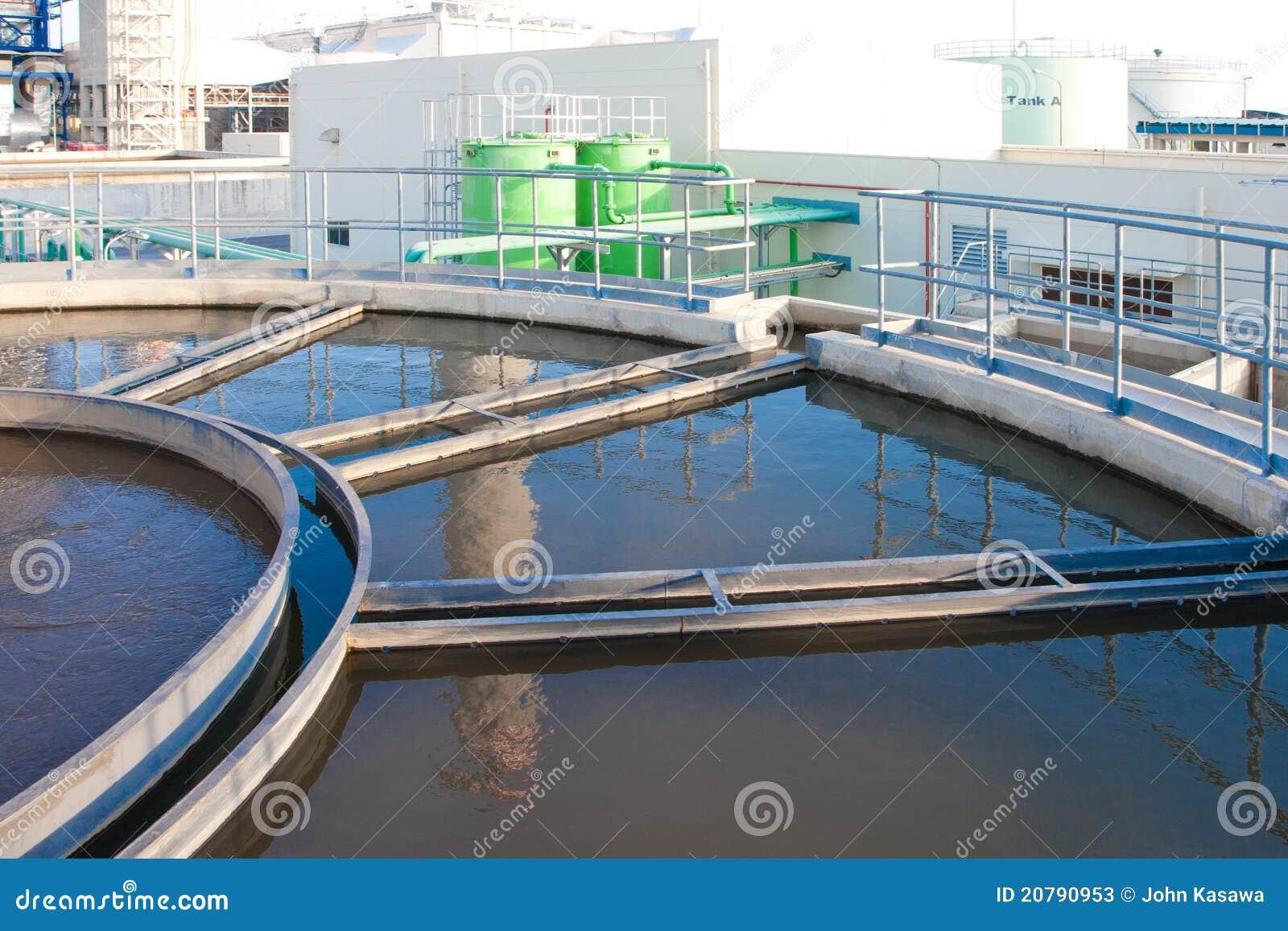 Tanques Waste dos sistemas do tratamento da água