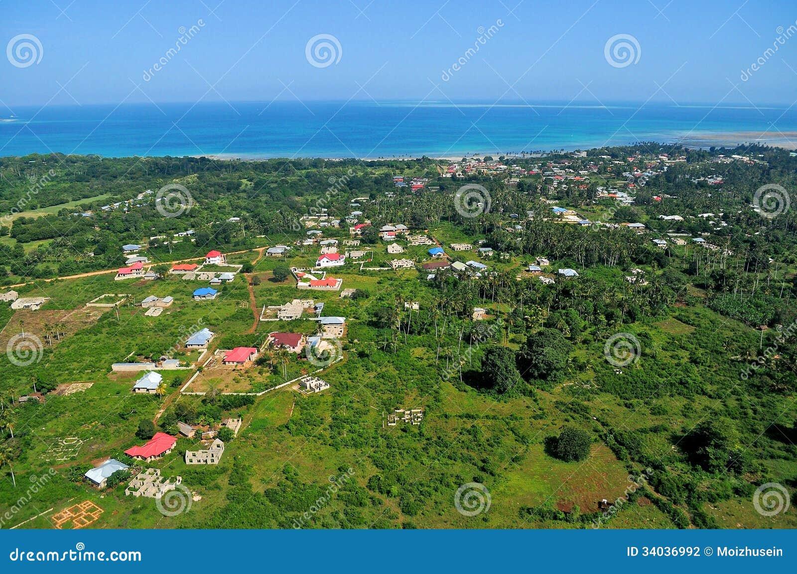 Tanzânia aérea