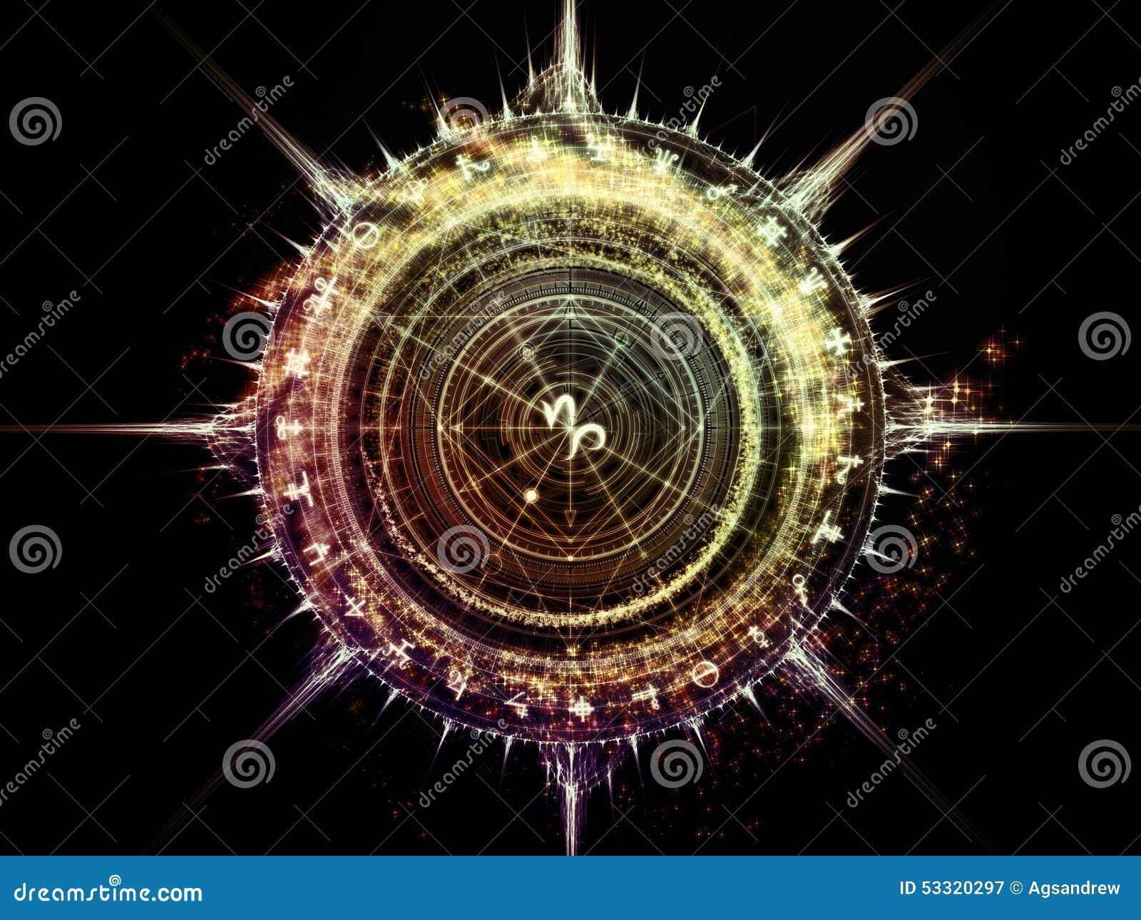 Indische Astrologie Tapete