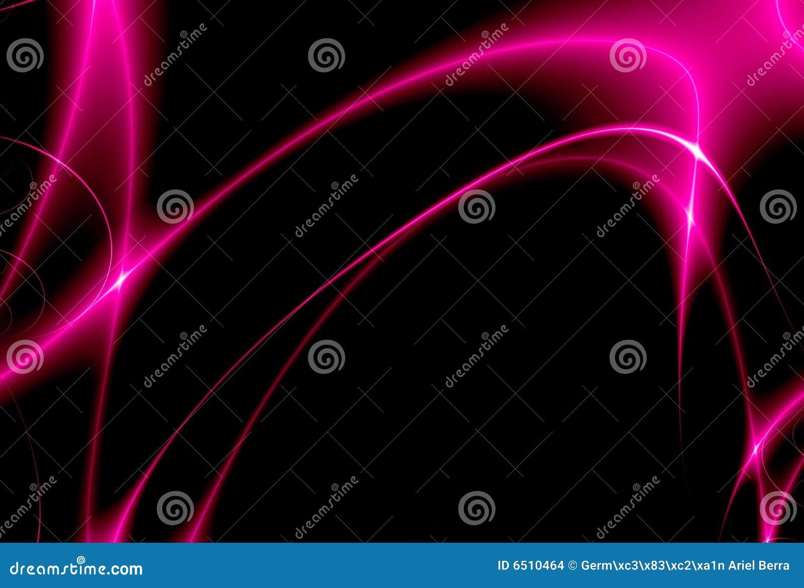 Tanz der rosafarbenen Leuchten