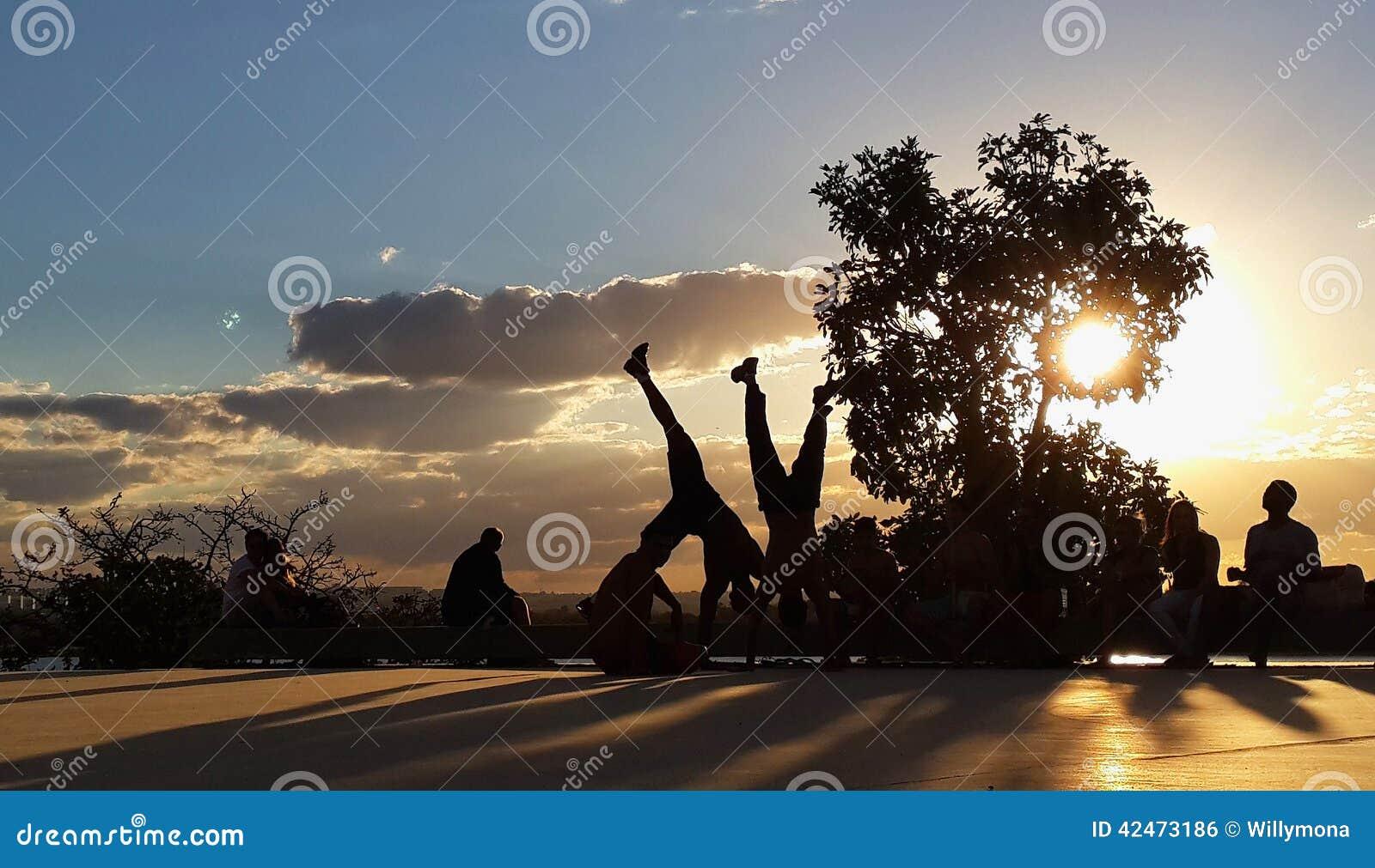 Tanzen capoeira