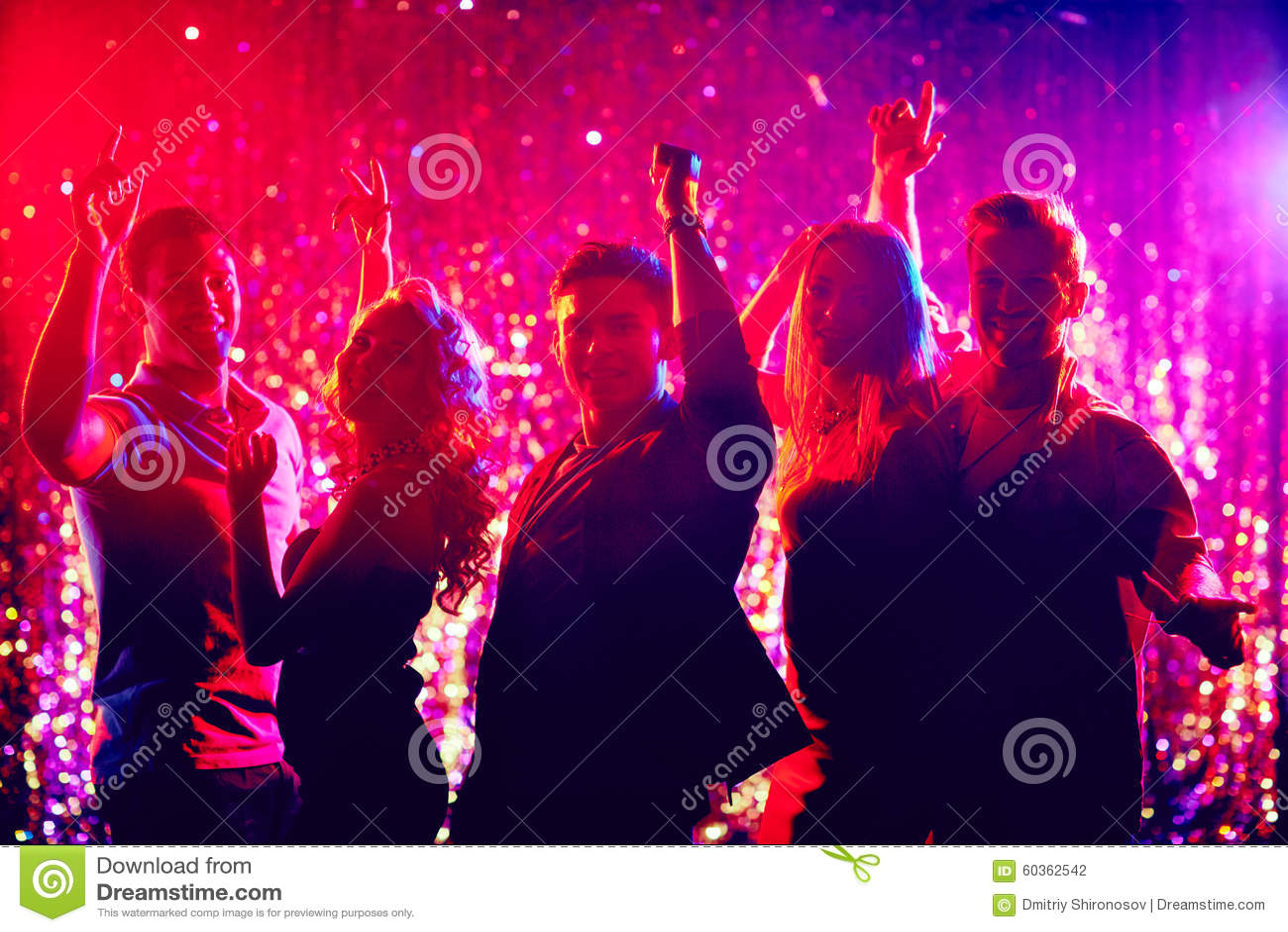 Tanzen in nachtclub stockfoto bild 60362542 - Nachtclub ...